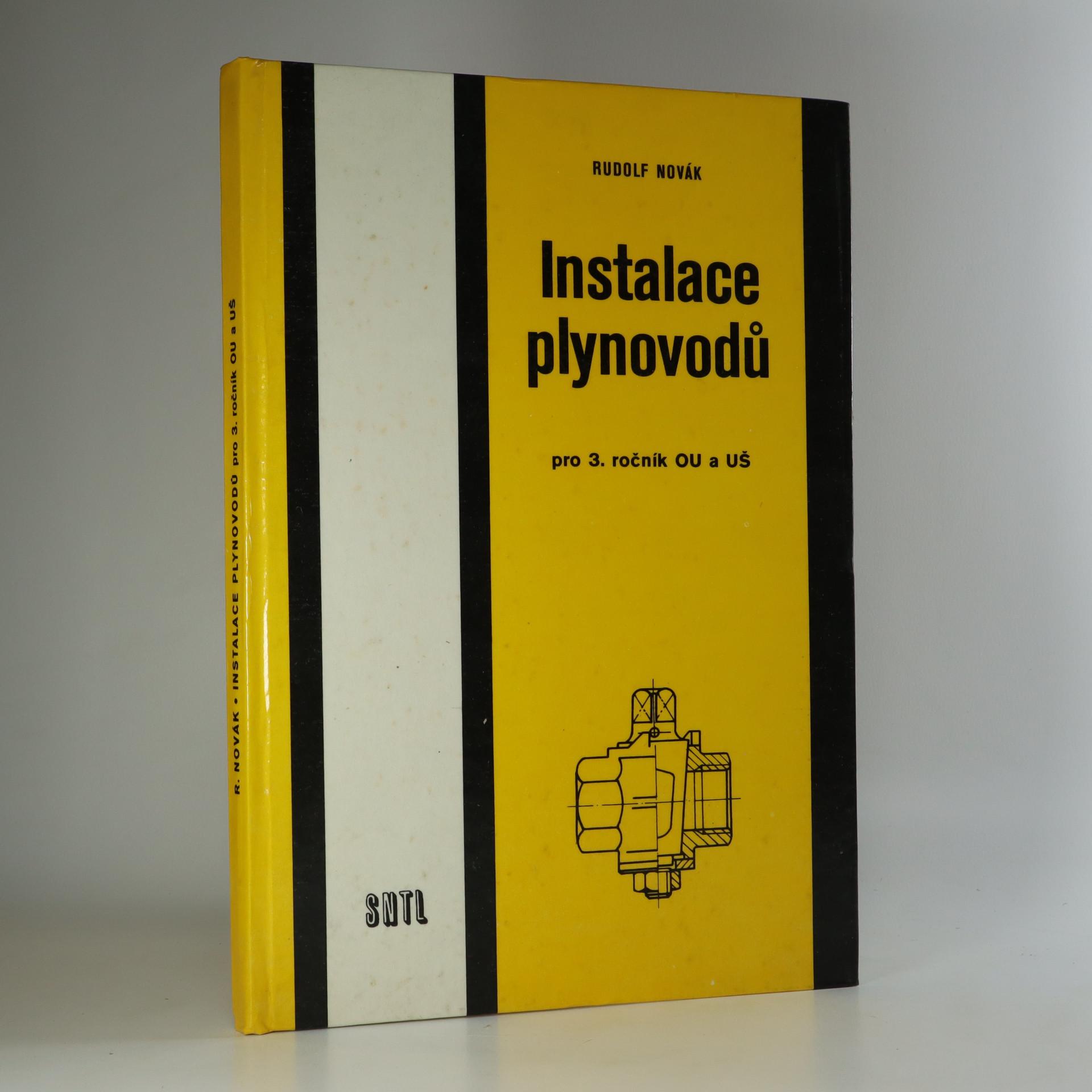 antikvární kniha Instalace plynovodů pro 3. ročník OU a UŠ , 1983