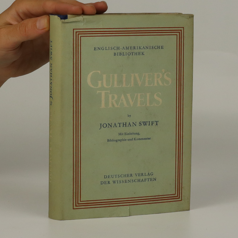 antikvární kniha Gulliver's Travels, 1955