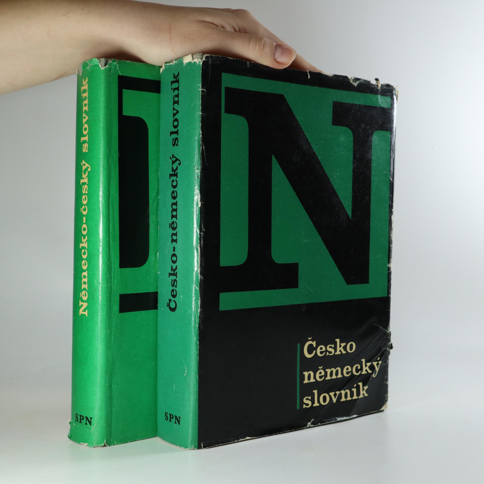 antikvární kniha Německo-český a česko-německý slovník (2 svazky), 1972