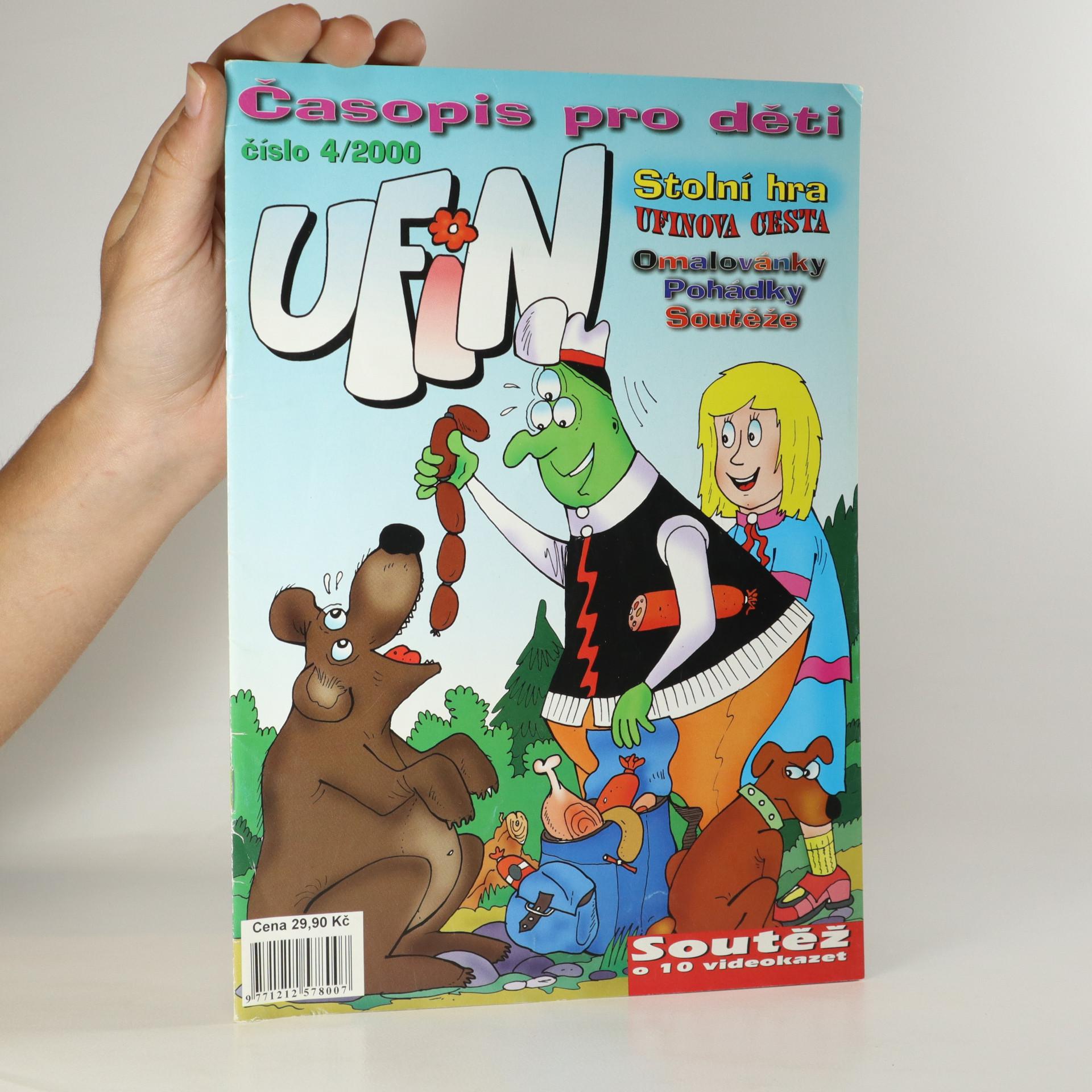 antikvární kniha Ufin. Číslo 4/2000, 2000