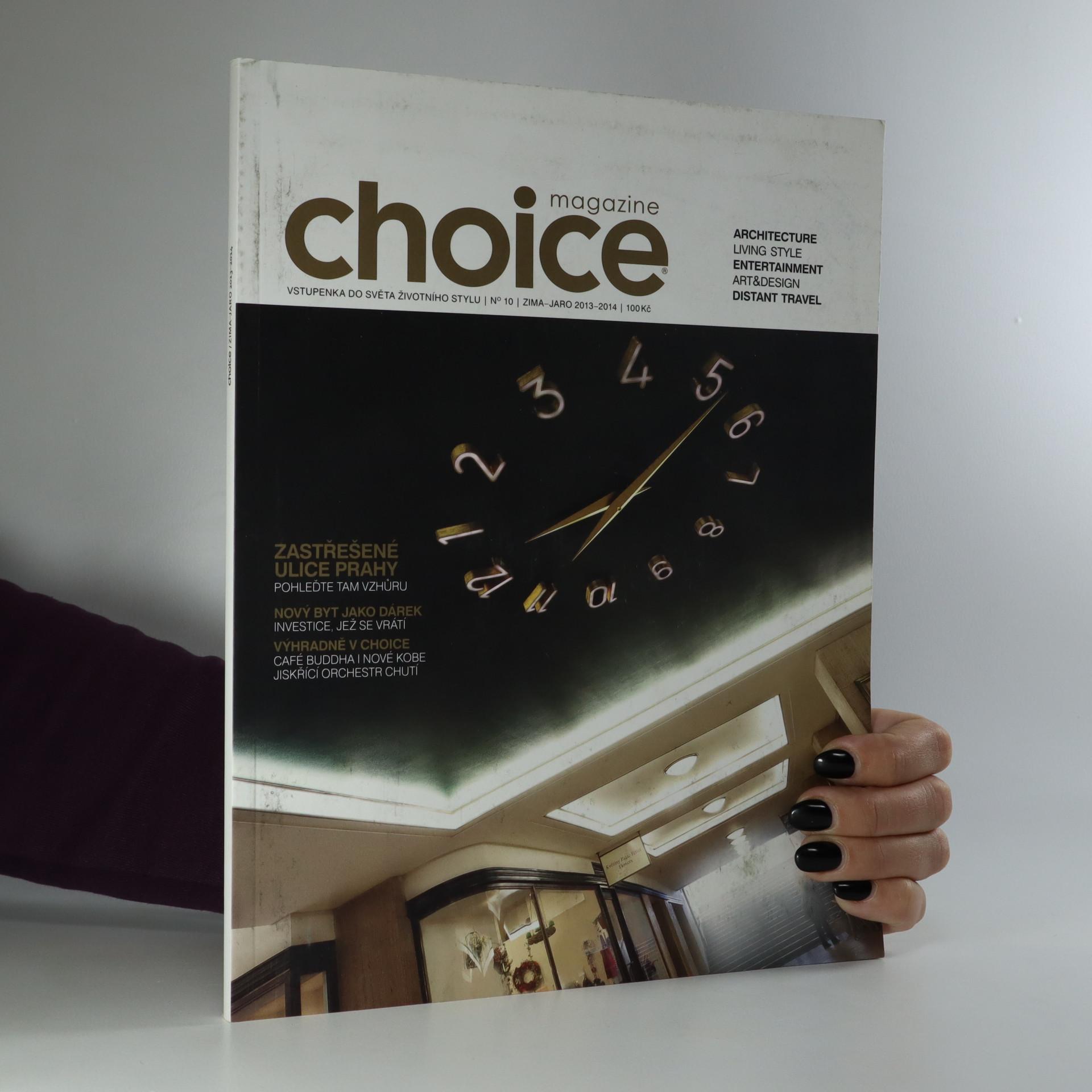 antikvární kniha Choice magazine, neuveden