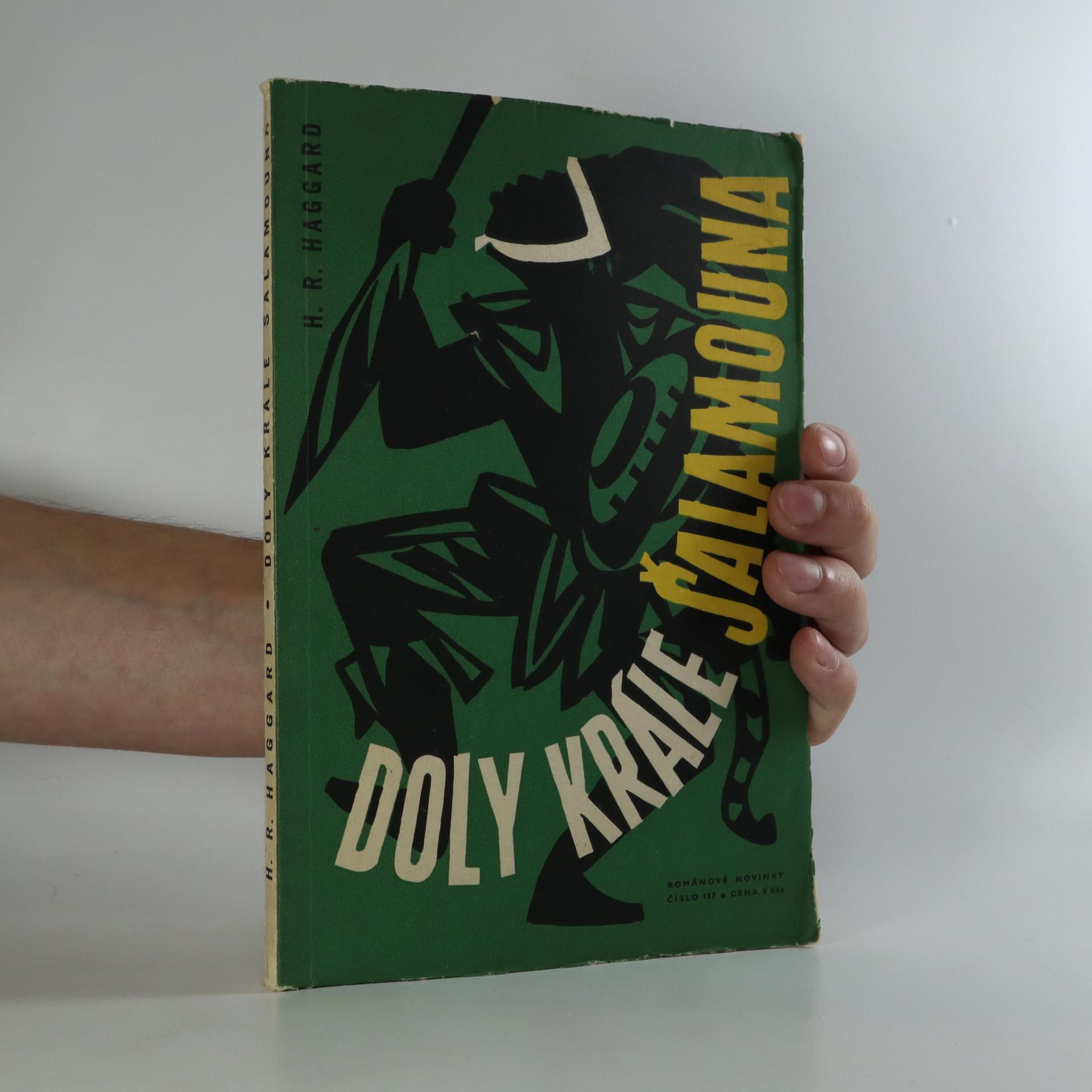 antikvární kniha Doly krále Šalamouna, 1961