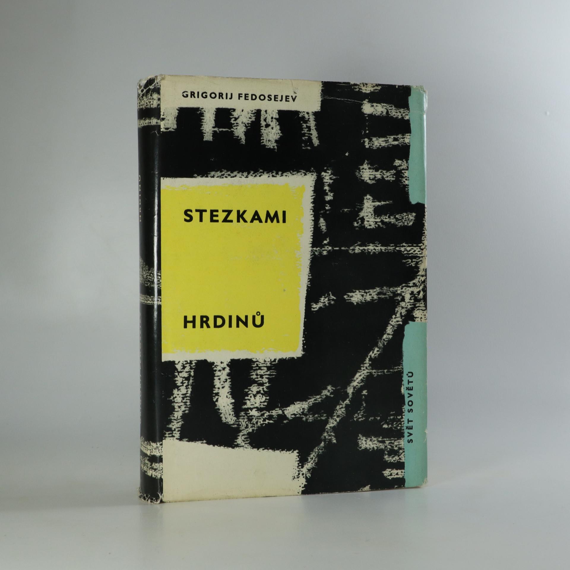 antikvární kniha Stezkami hrdinů, 1964