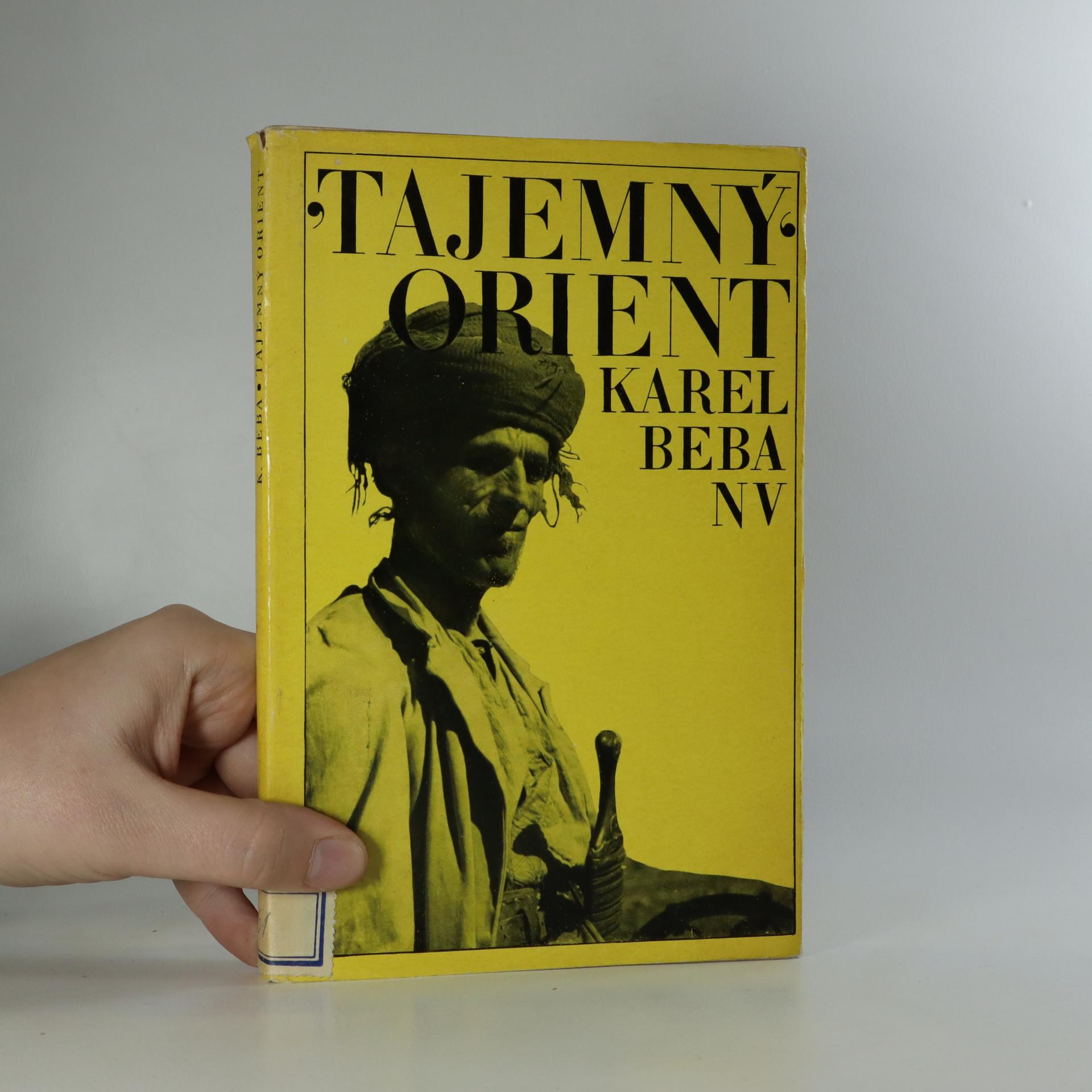 antikvární kniha Tajemný Orient, 1968