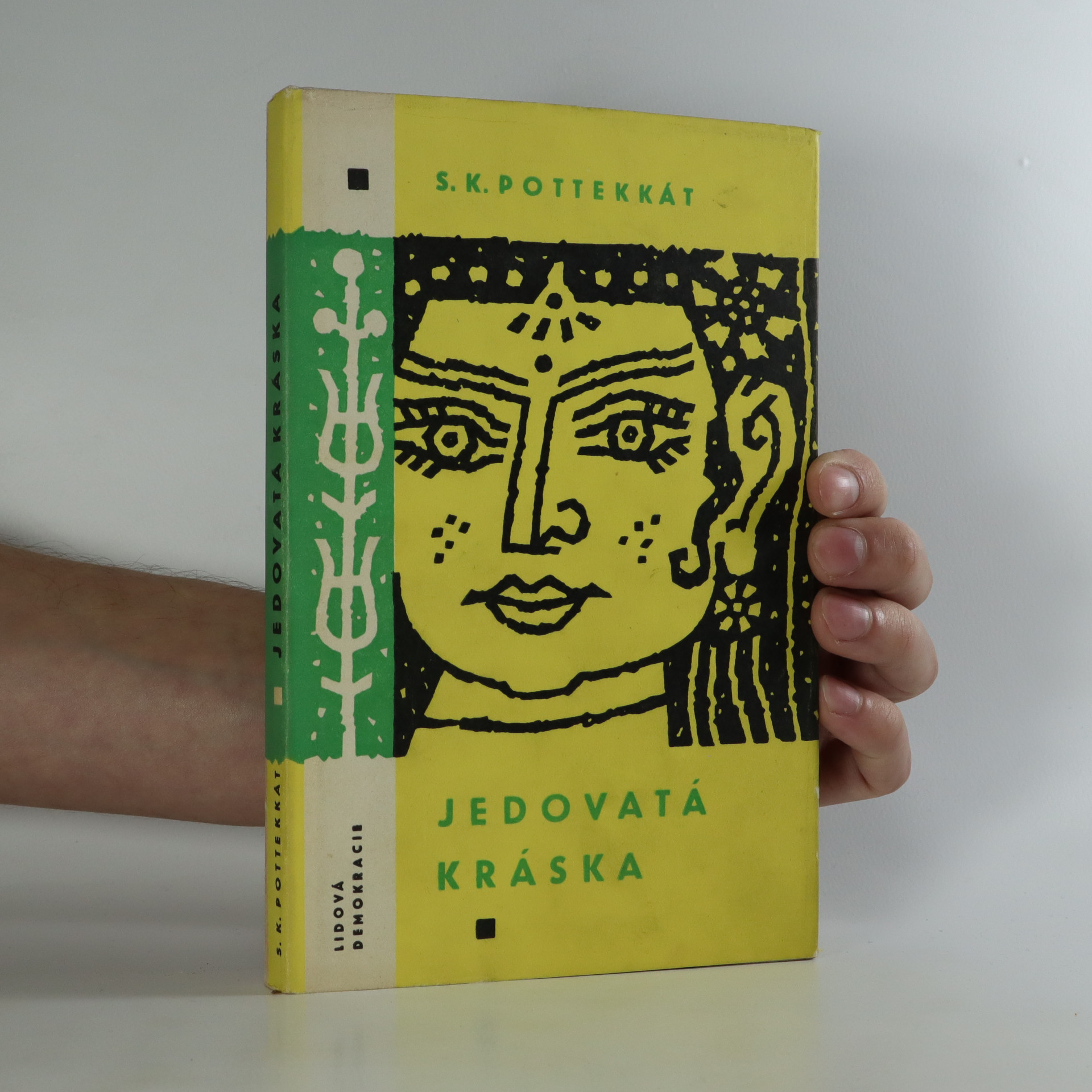 antikvární kniha Jedovatá kráska, 1963