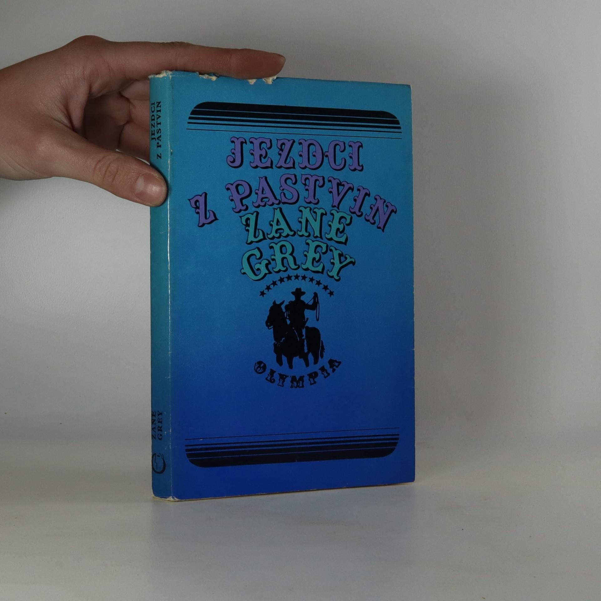 antikvární kniha Jezdci z pastvin, 1978