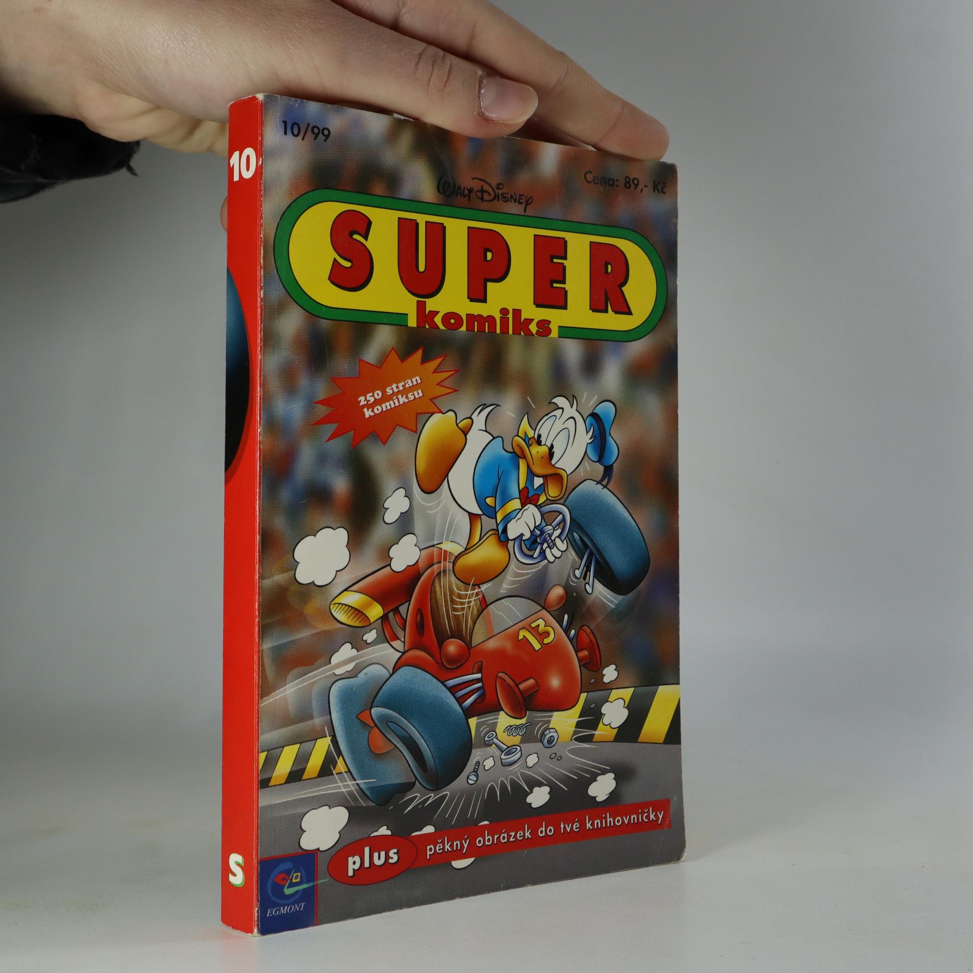 antikvární kniha Disney Super komiks č 10., 1999