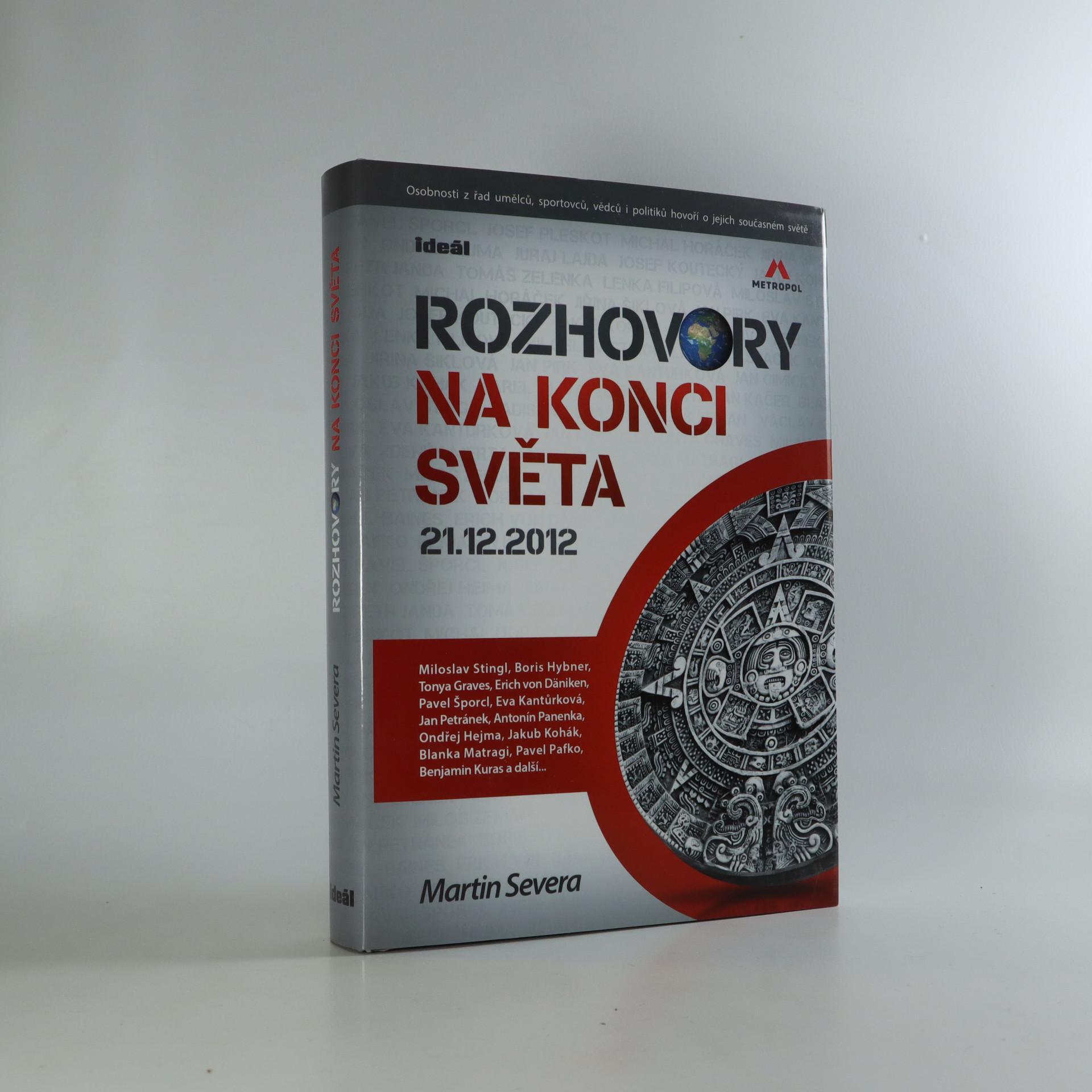 antikvární kniha Rozhovory na konci světa 21.12.2012, 2012