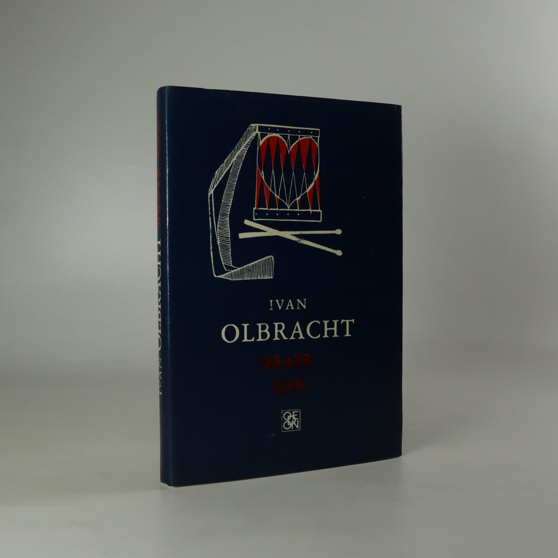 antikvární kniha Bratr Žak, 1974