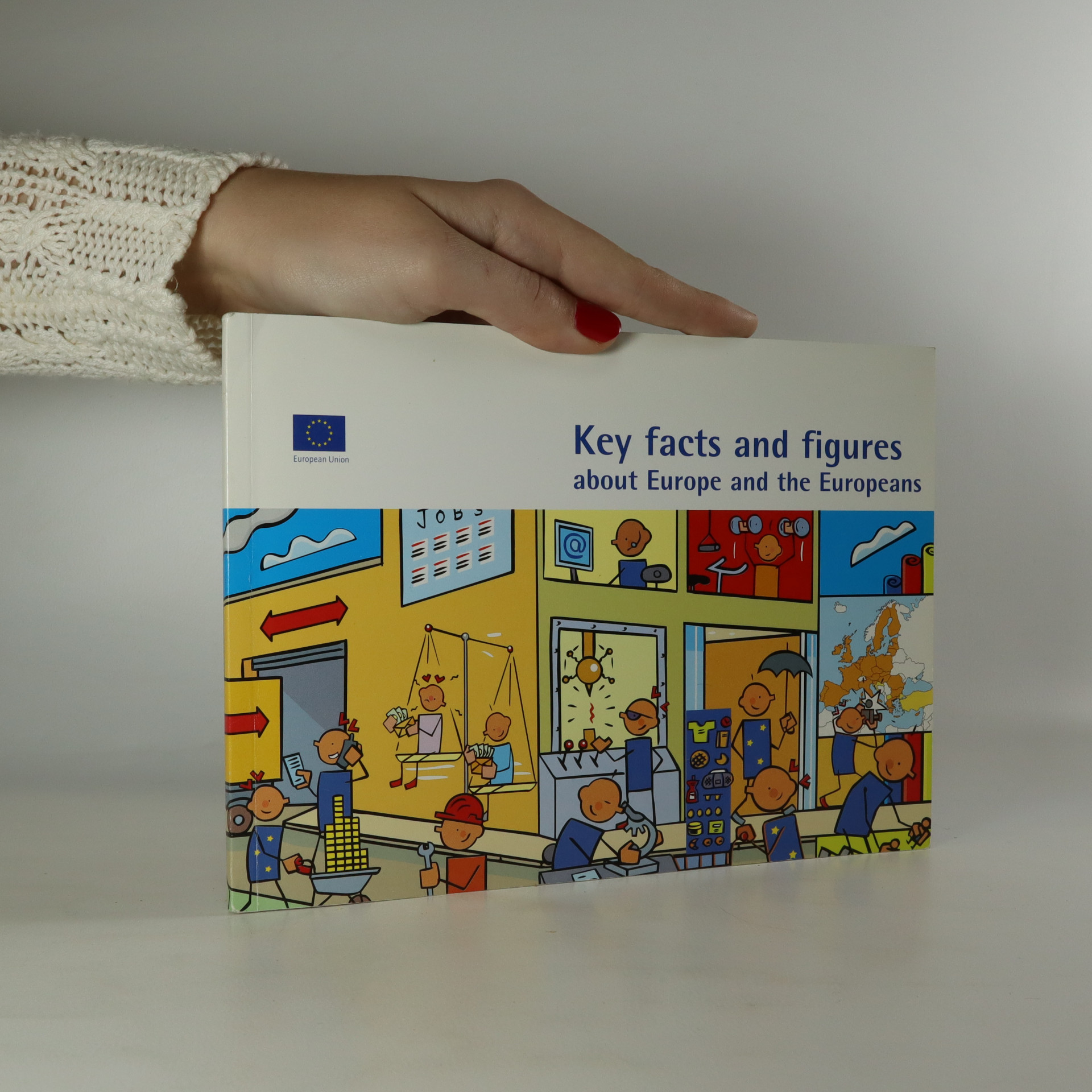 antikvární kniha Key Facts and Figures about Europe and the Europeans, 2007