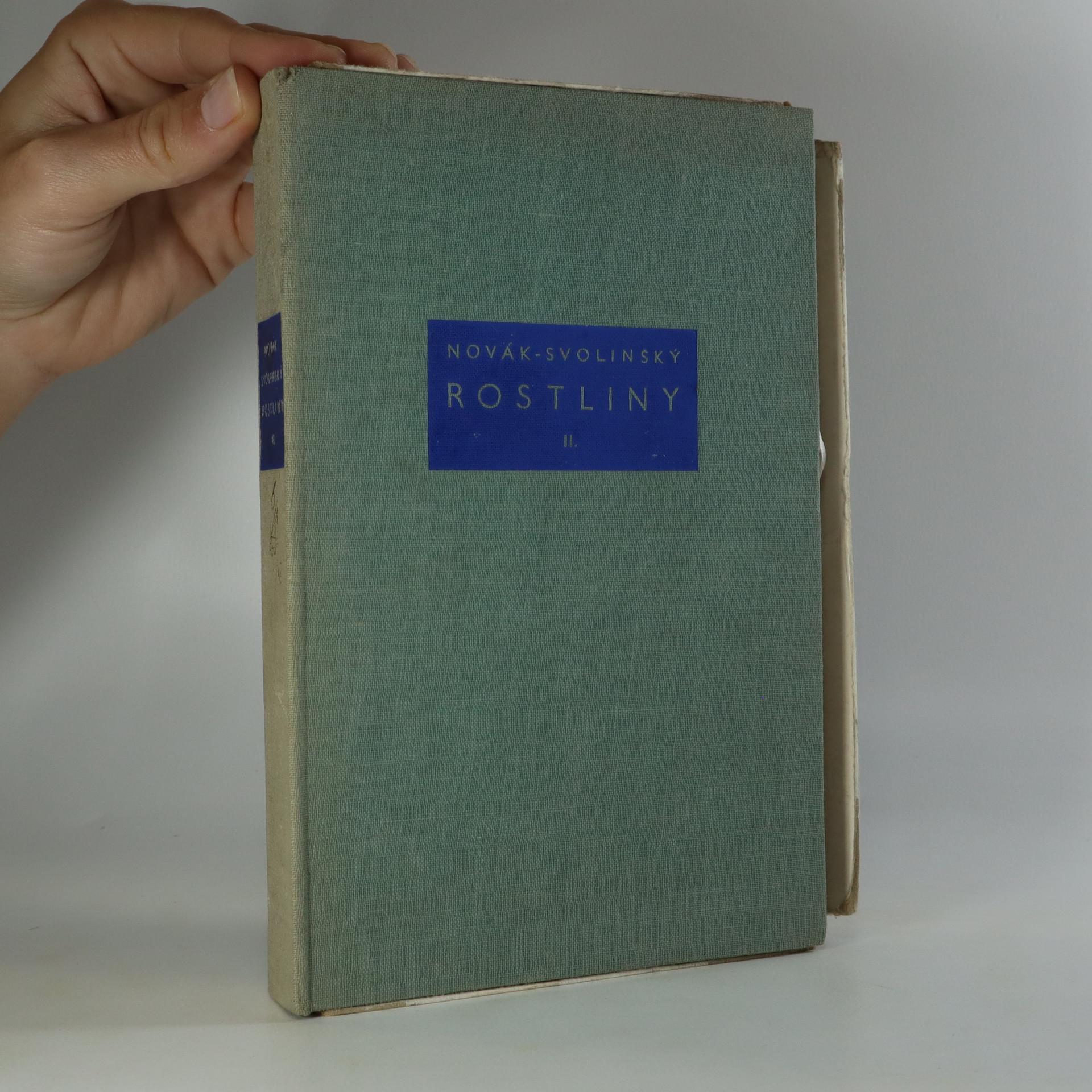 antikvární kniha Naše příroda v obrazech. Díl III., Rostliny 2., 1940