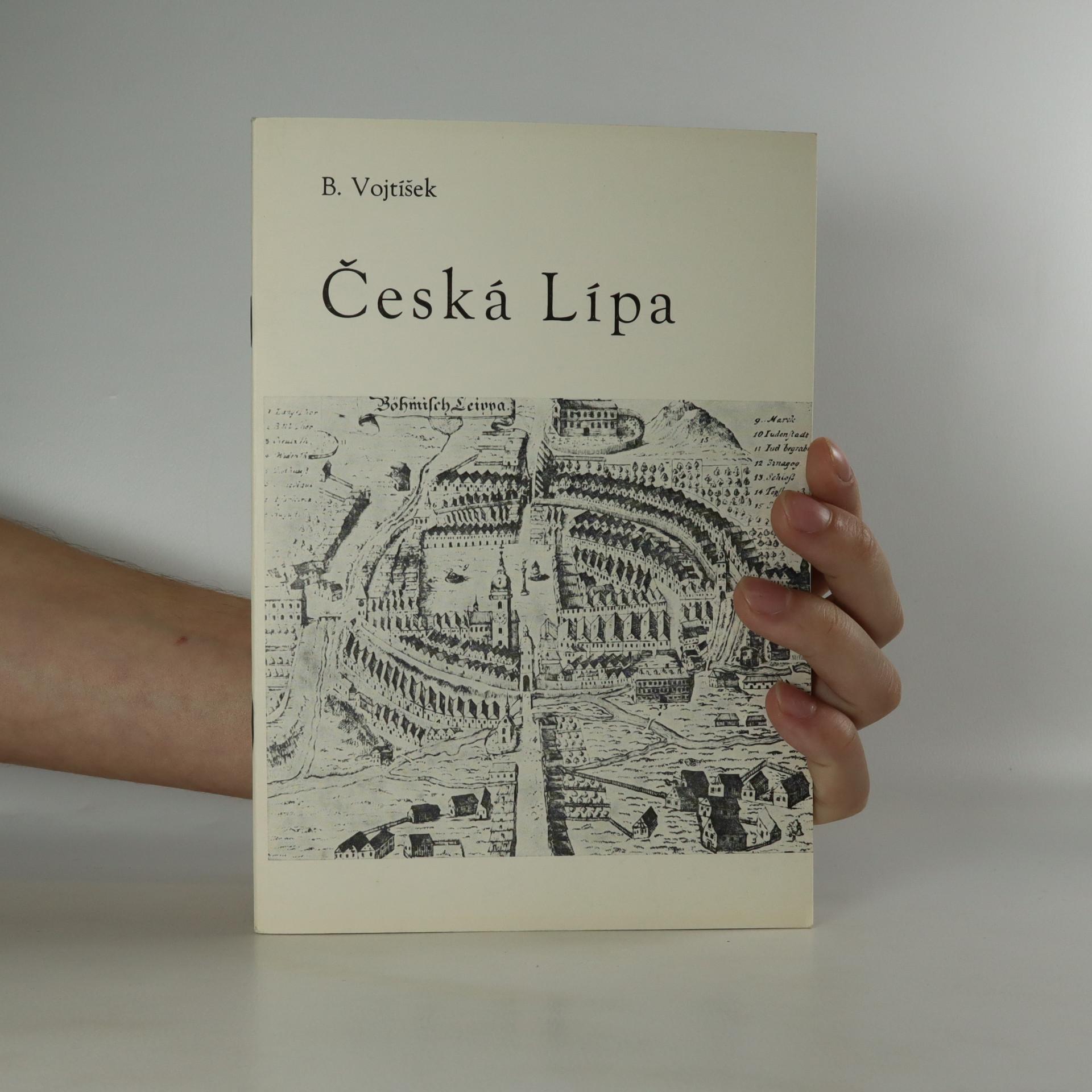 antikvární kniha Česká Lípa. Stručný průvodce sedmi stoletími, 1982