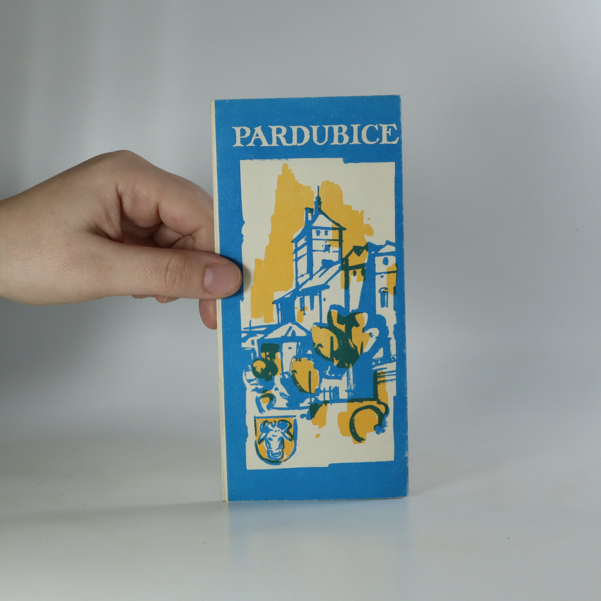 antikvární kniha Pardubice, 1969