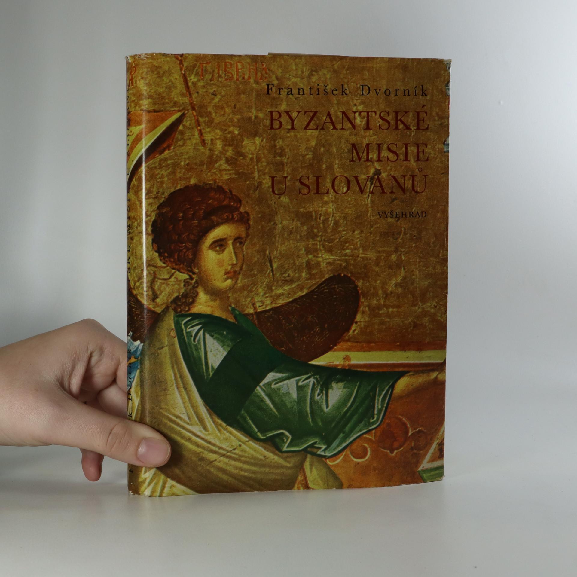 antikvární kniha Byzantské misie u Slovanů, 1970