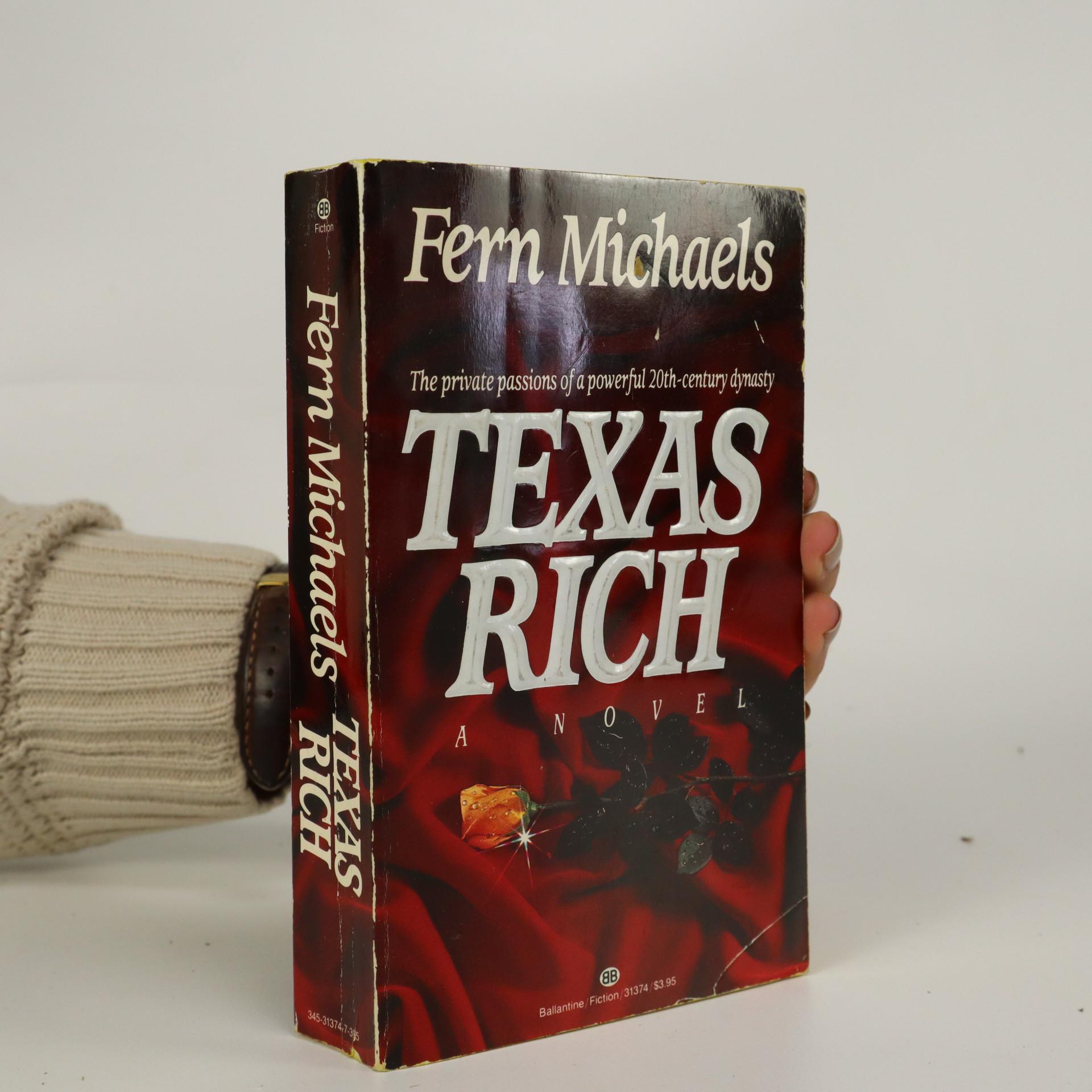 antikvární kniha Texas Rich, 1985