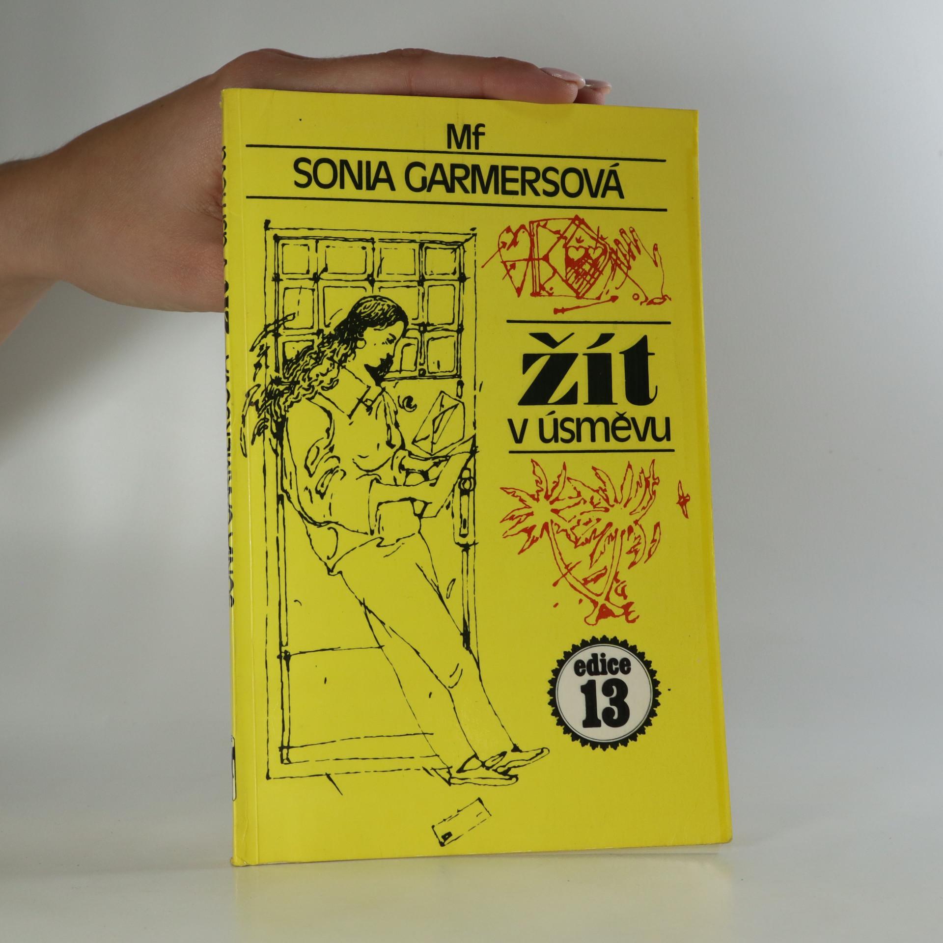 antikvární kniha Žít v úsměvu, 1988