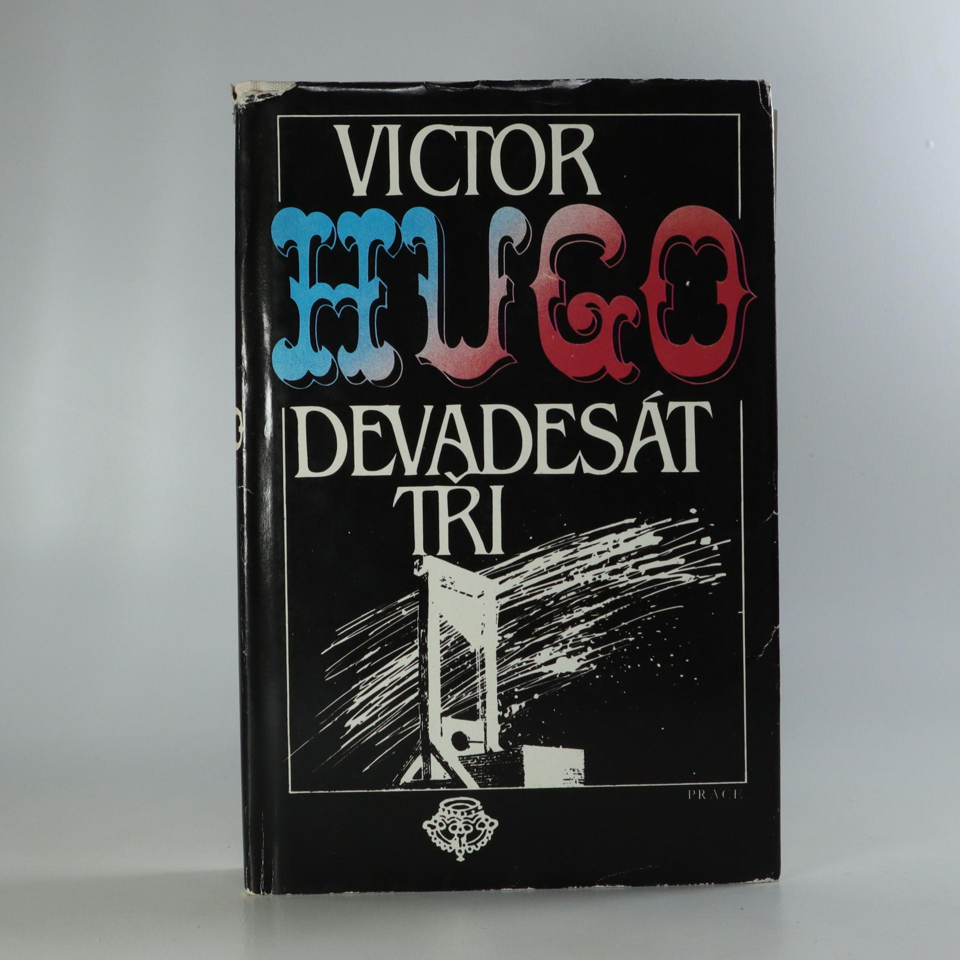 antikvární kniha Devadesát tři, 1986