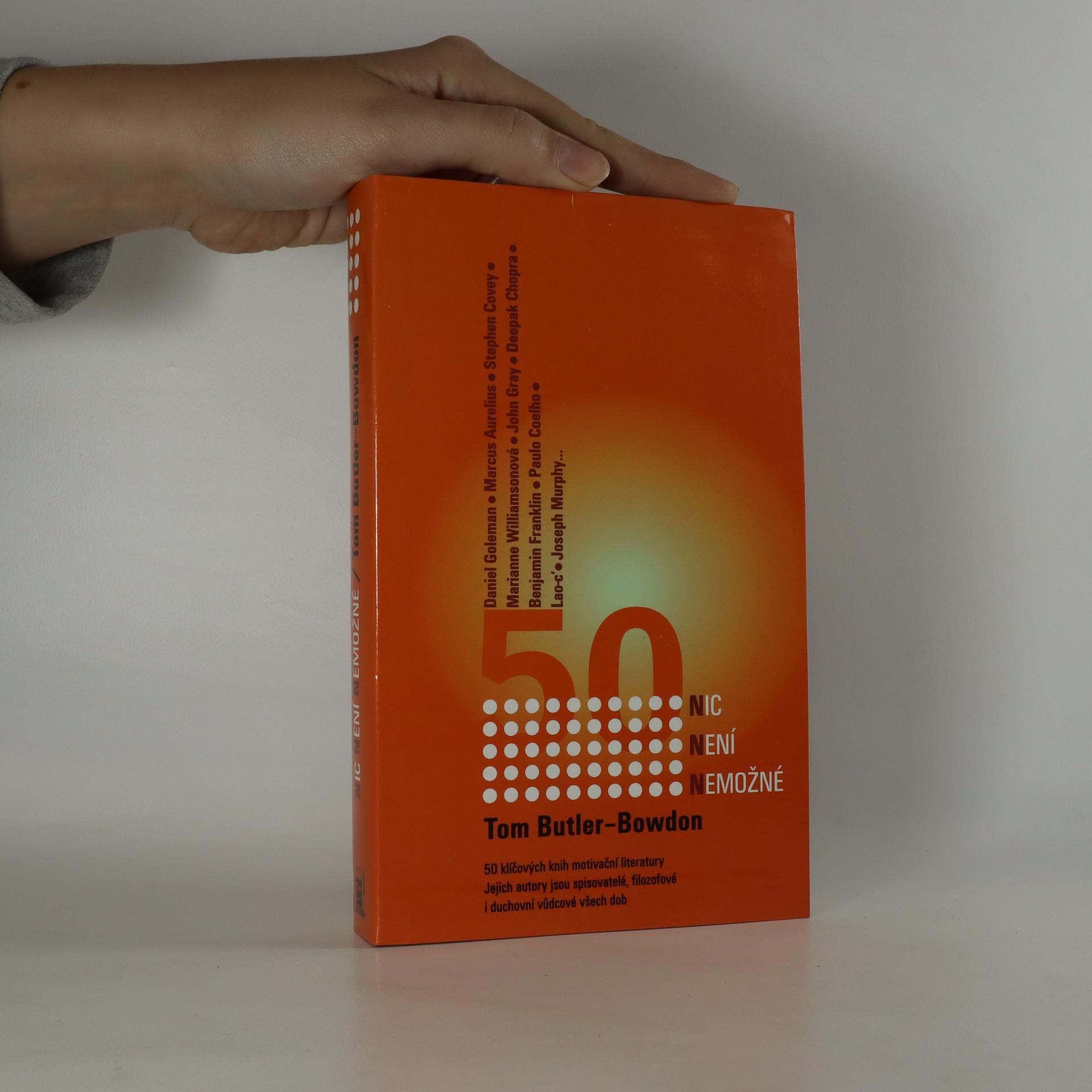 antikvární kniha Nic není nemožné. 50 klíčových knih motivační literatury, 2003