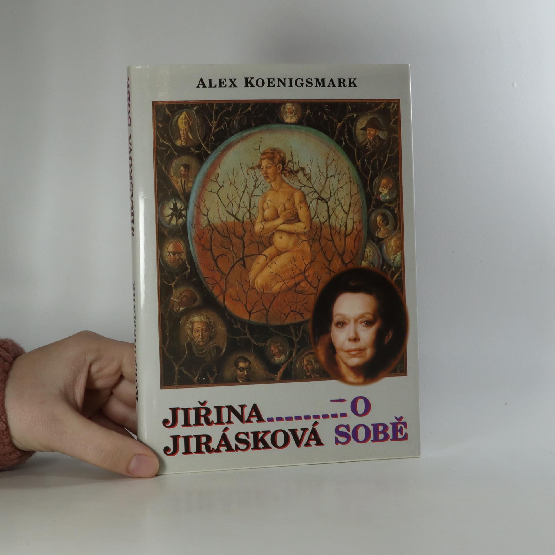 antikvární kniha Jiřina Jirásková o sobě, 1999