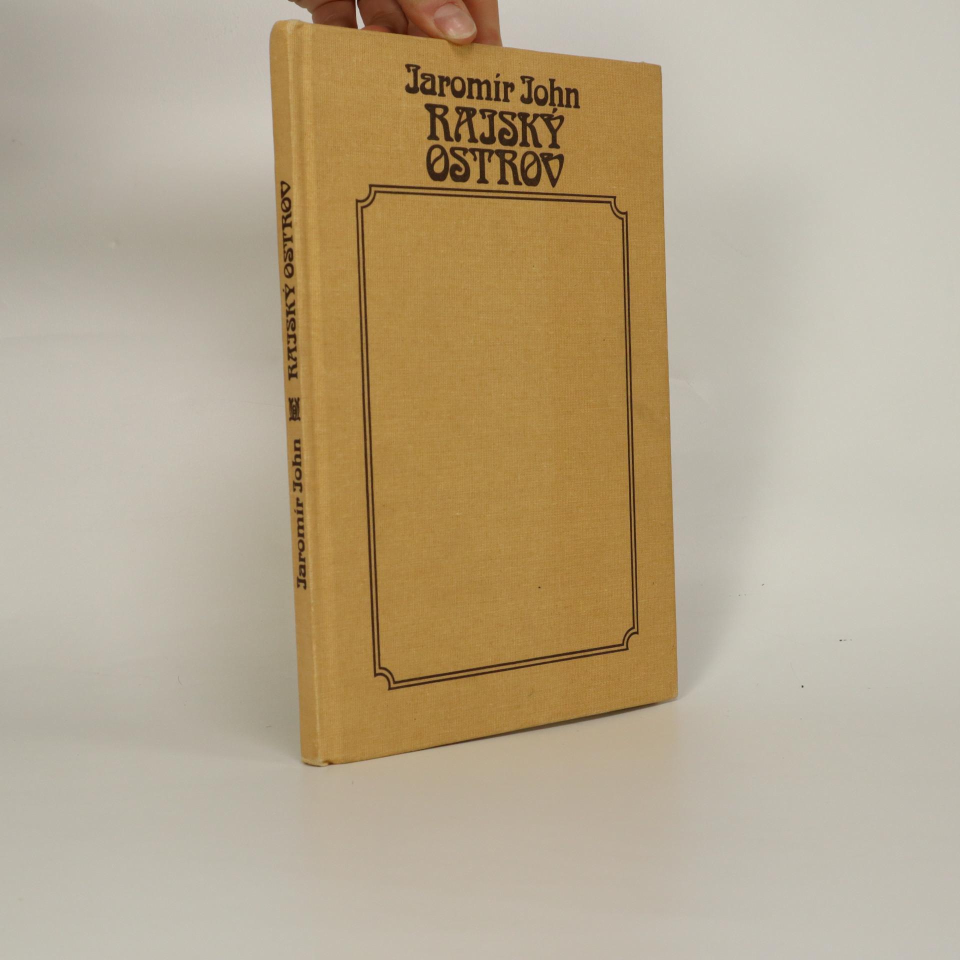 antikvární kniha Rajský ostrov, 1990