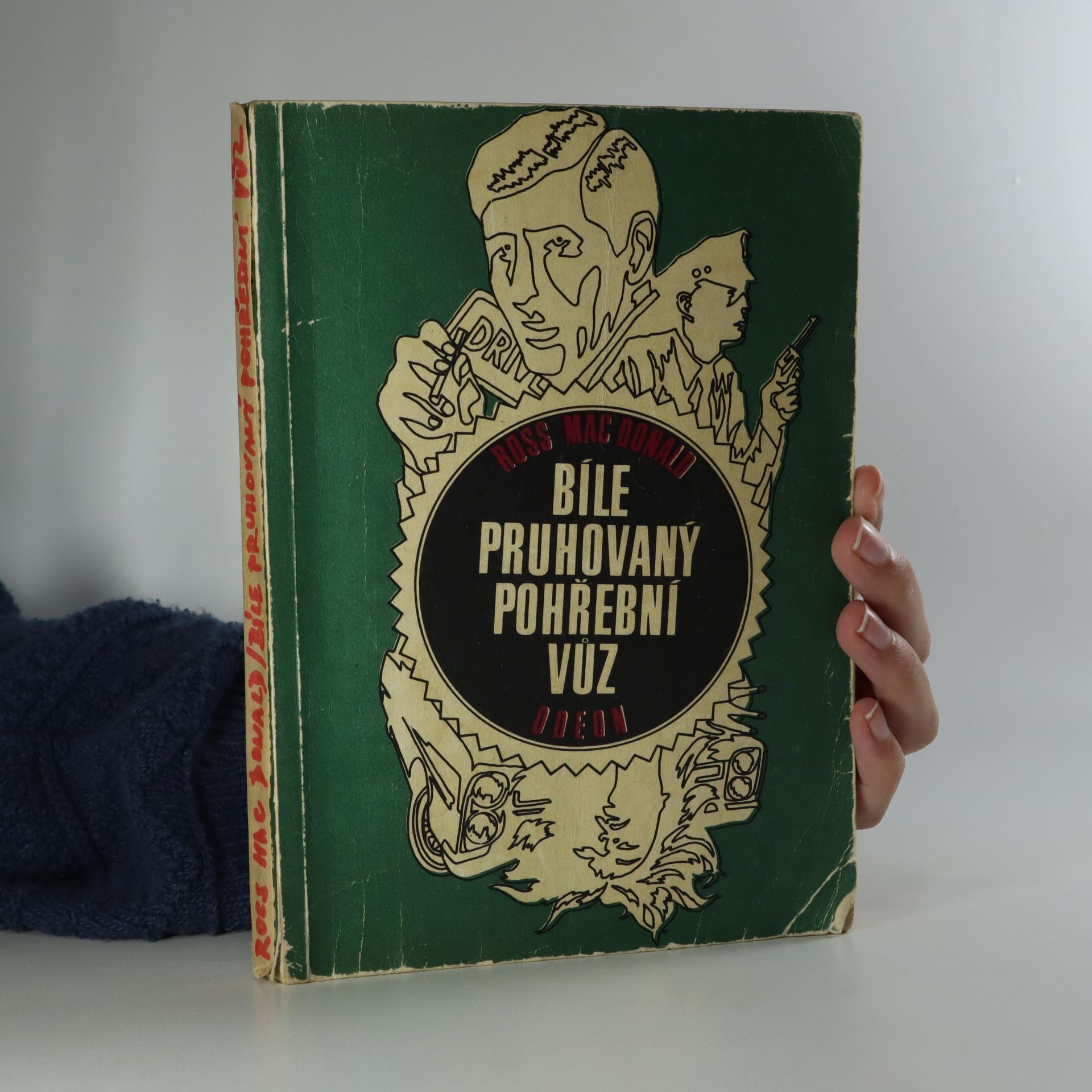 antikvární kniha Bíle pruhovaný pohřební vůz, 1971