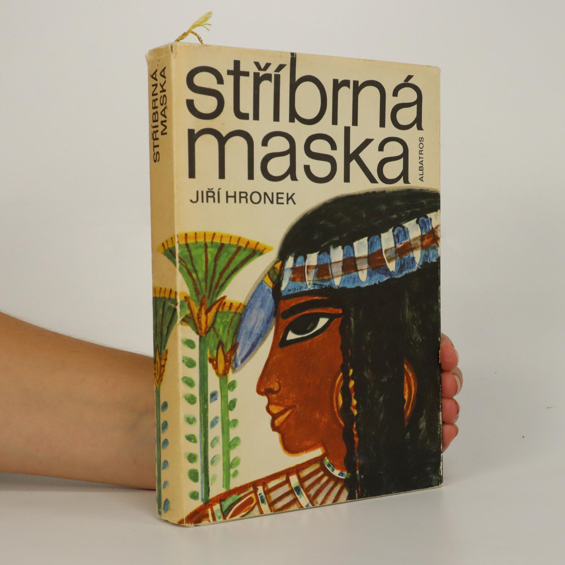 antikvární kniha Stříbrná maska, 1974