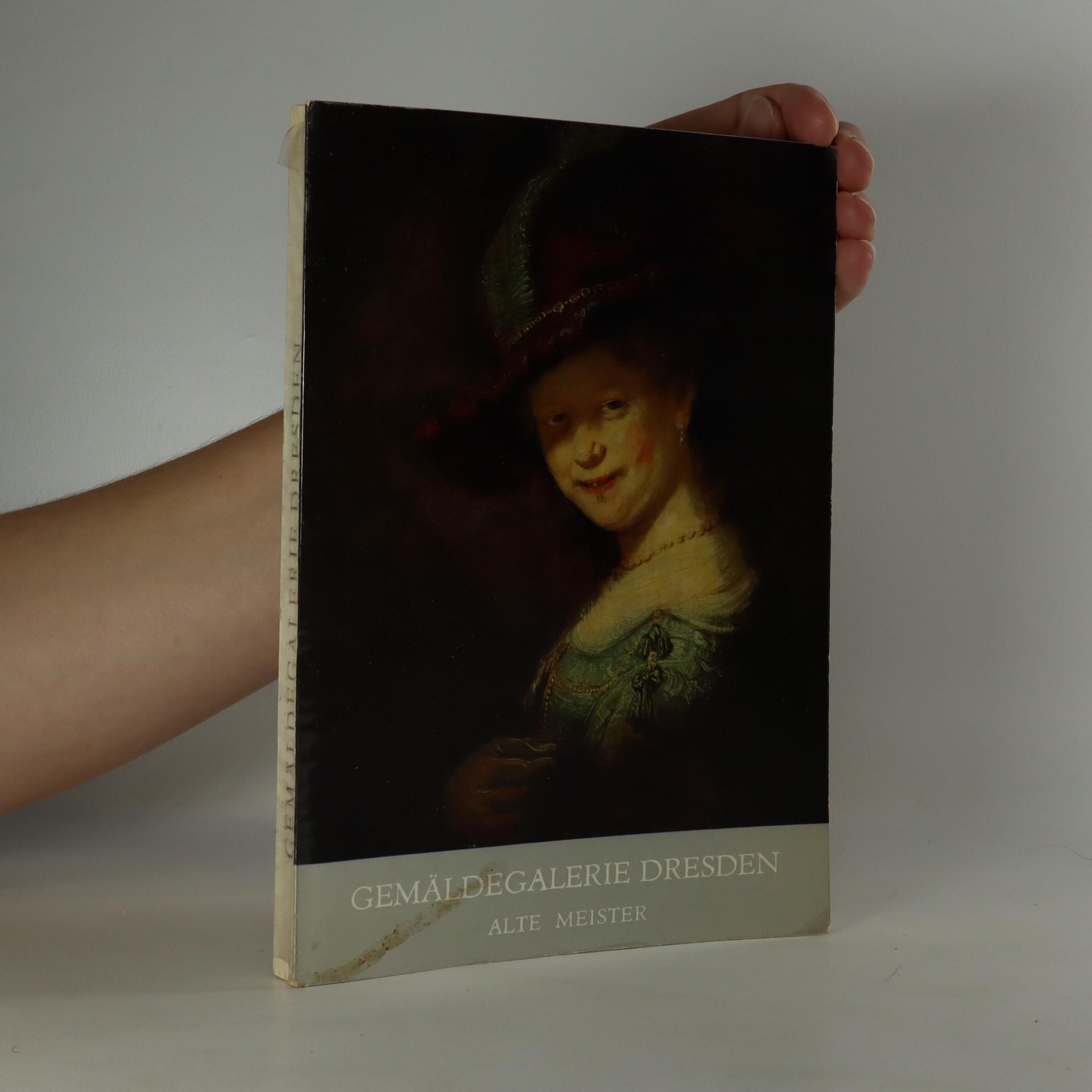 antikvární kniha Gemäldegalerie Dresden. Alte Meister, 1974