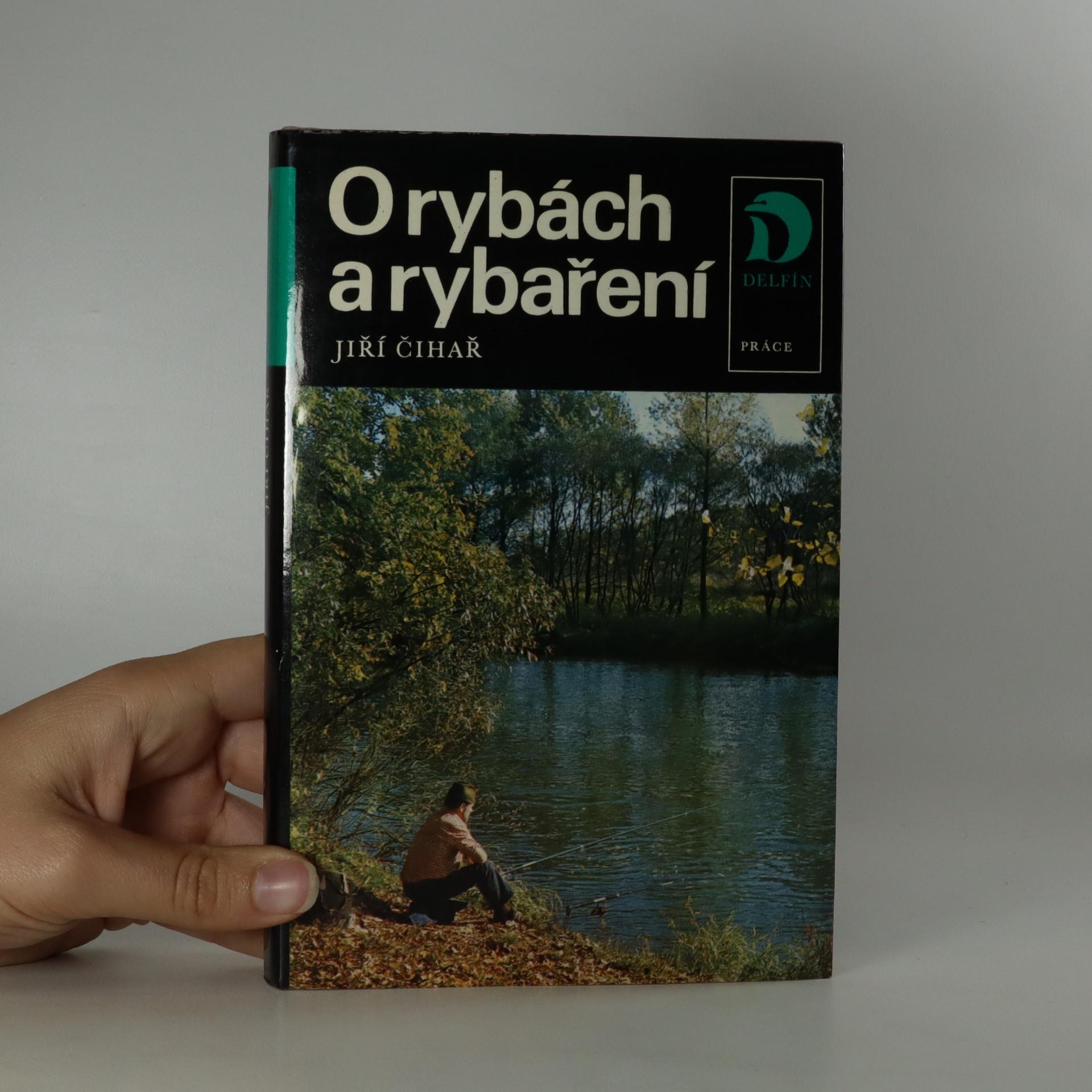 antikvární kniha O rybách a rybaření, 1983