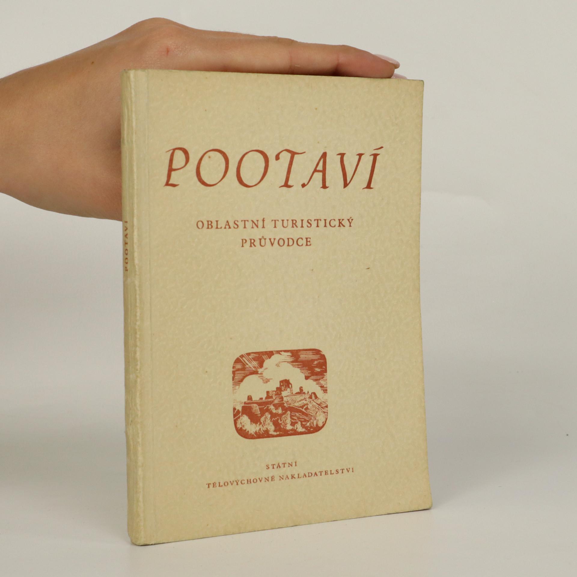 antikvární kniha Pootaví - oblastní turistický průvodce, 1955