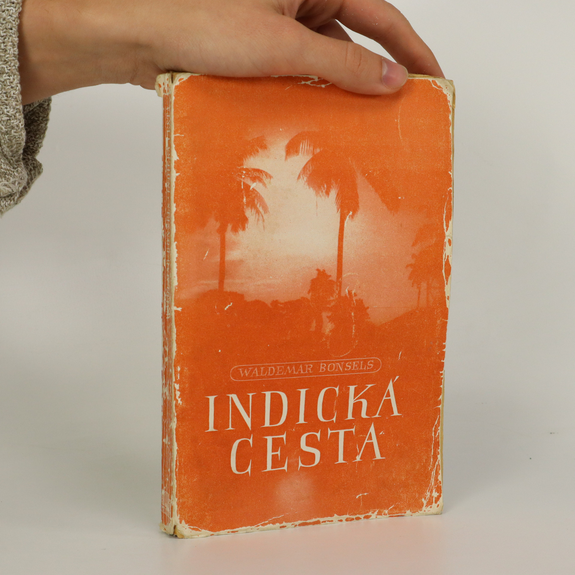 antikvární kniha Indická cesta, 1941