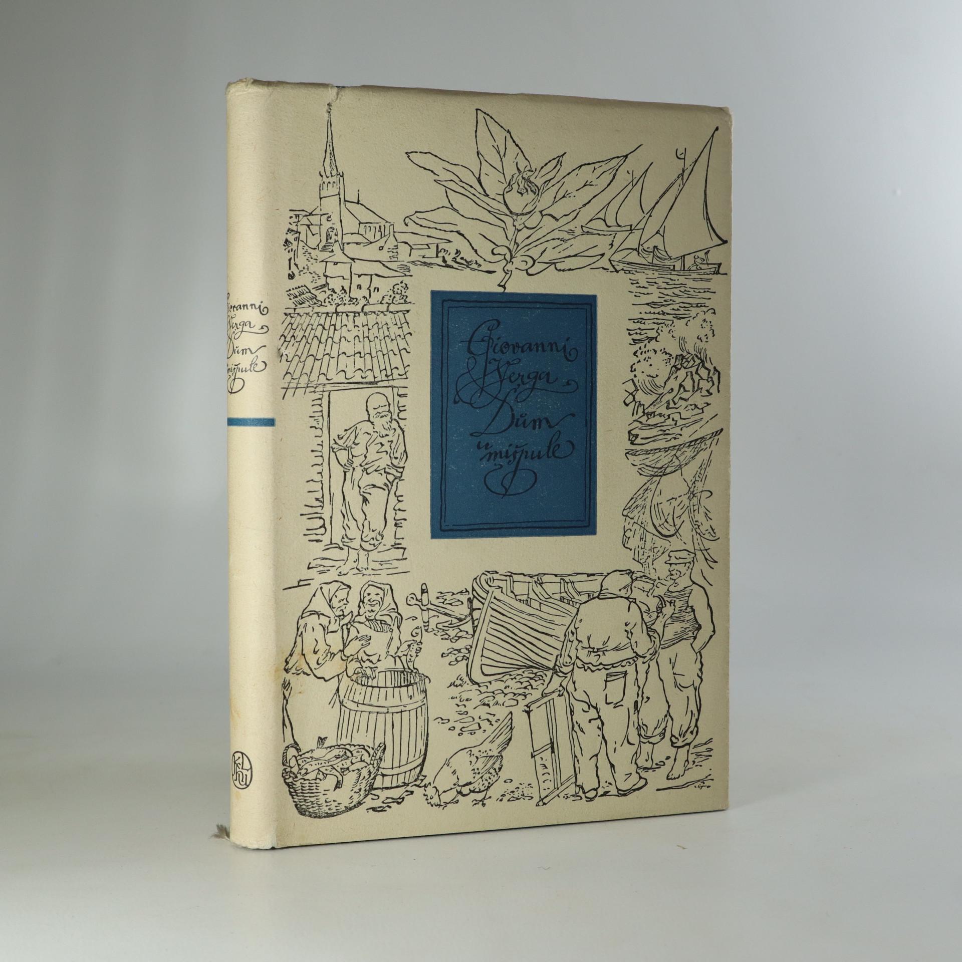 antikvární kniha Dům u mišpule, 1955