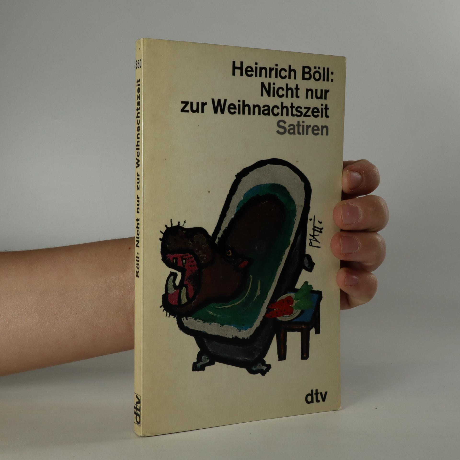 antikvární kniha Nicht nur zur Weinachtszeit, 1966