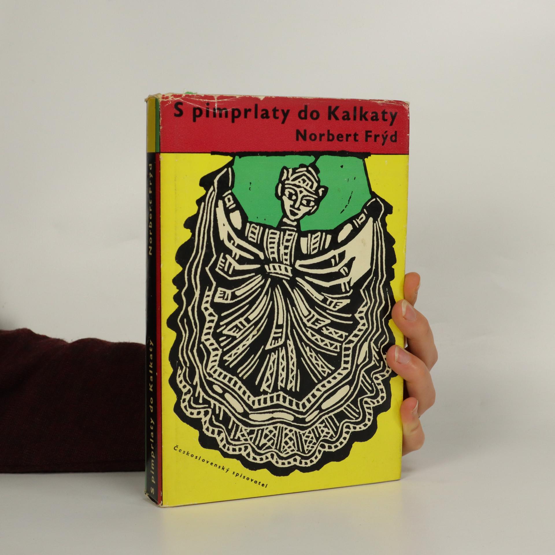 antikvární kniha S pimprlaty do Kalkaty, 1960