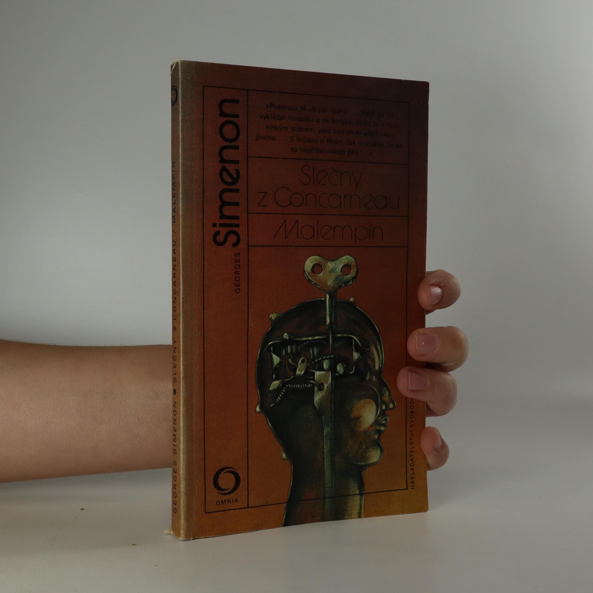 antikvární kniha Slečny z Concarneau Malempin, 1985