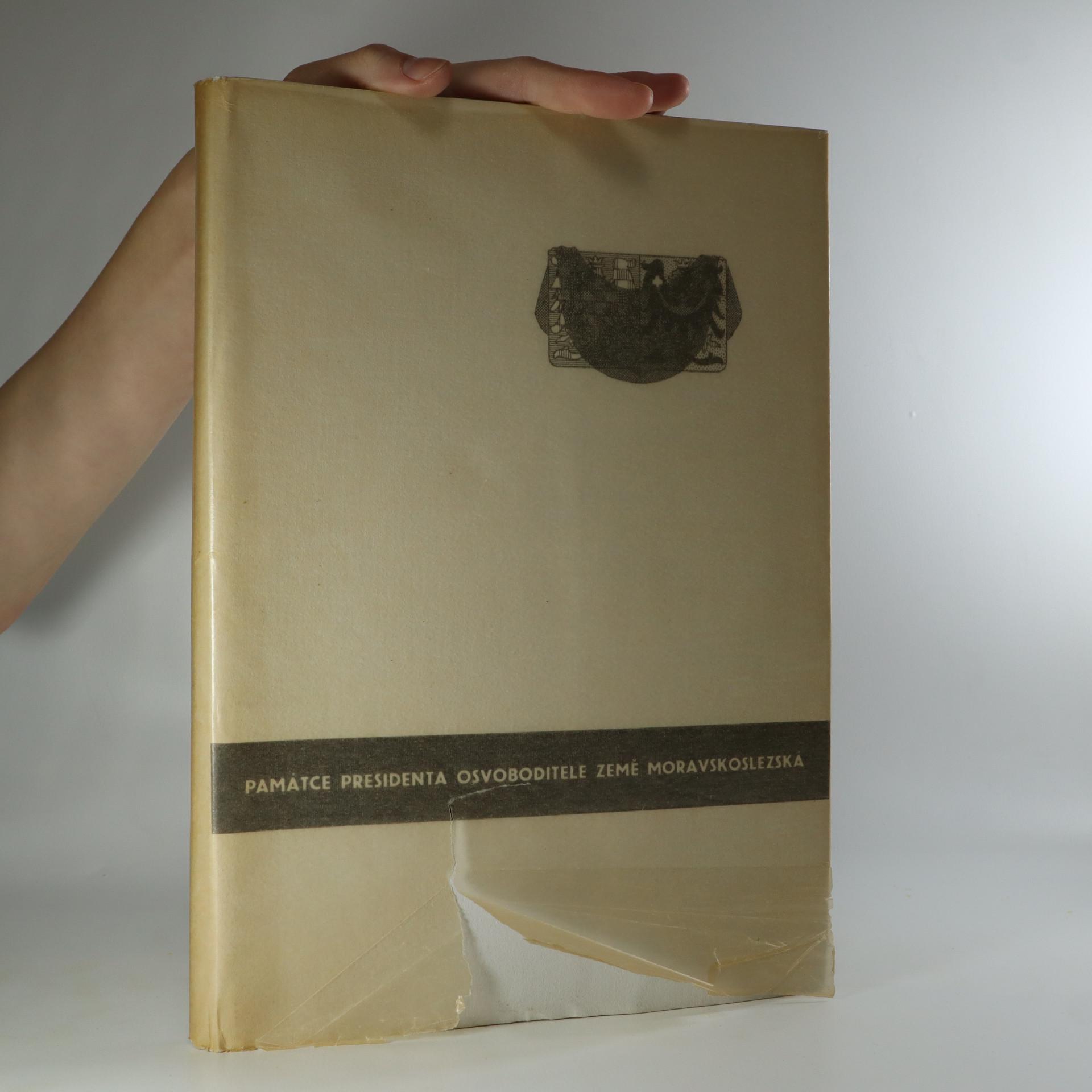 antikvární kniha Památce presidenta Osvoboditele: země moravskoslezská (je cítit zatuchlinou), 1937
