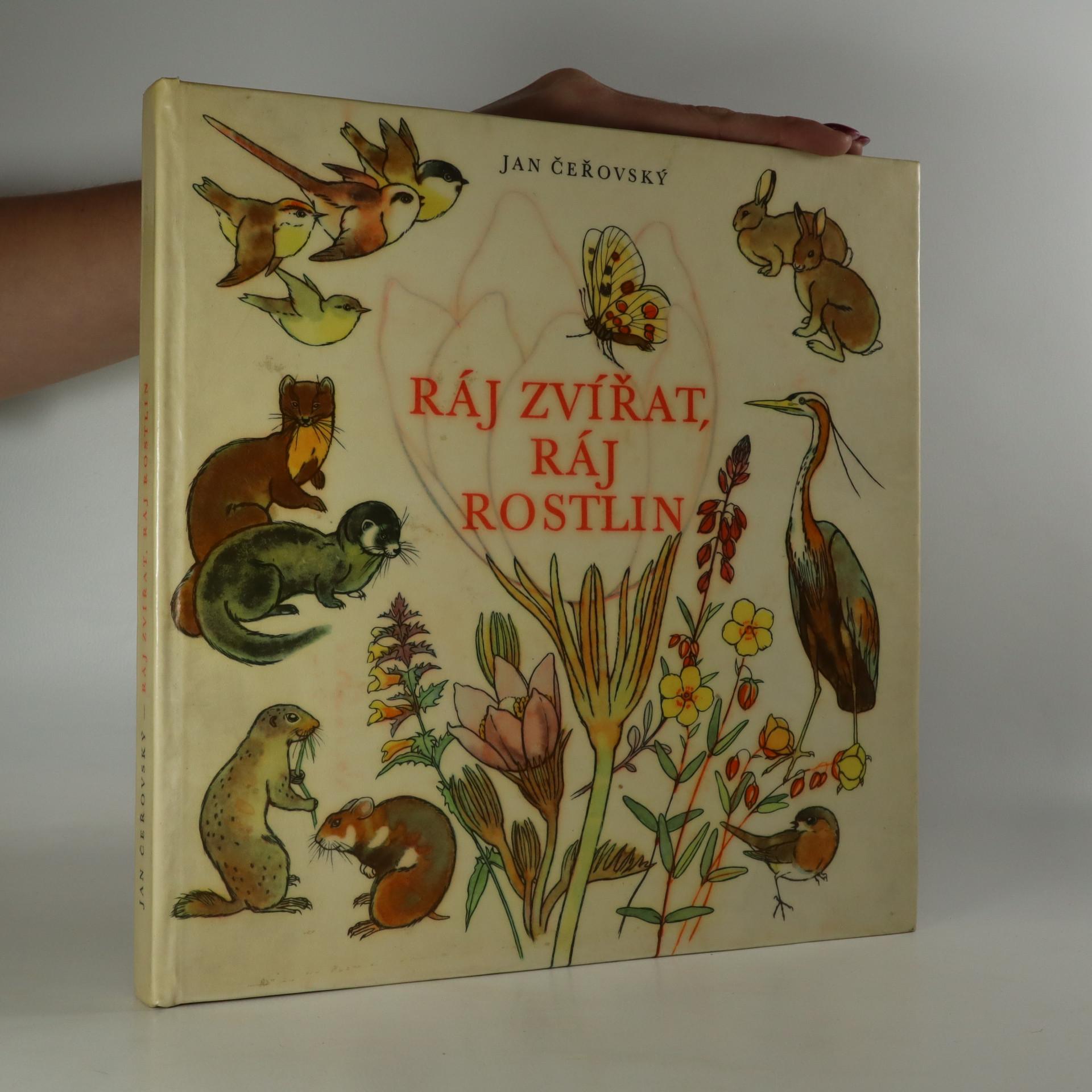 antikvární kniha Ráj zvířat, ráj rostlin, 1960