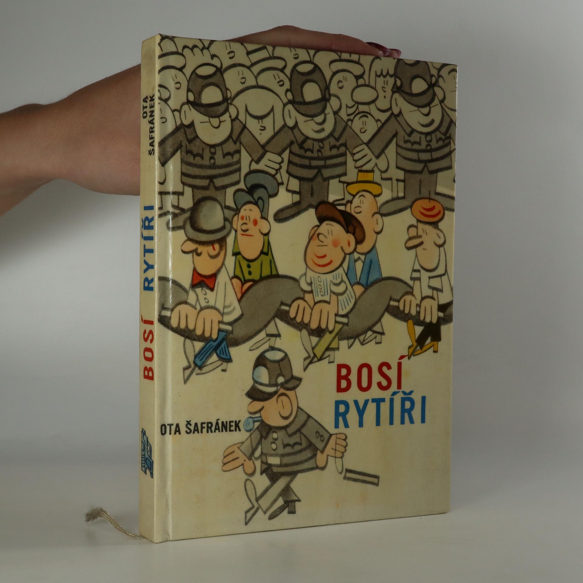 antikvární kniha Bosí rytíři, 1966