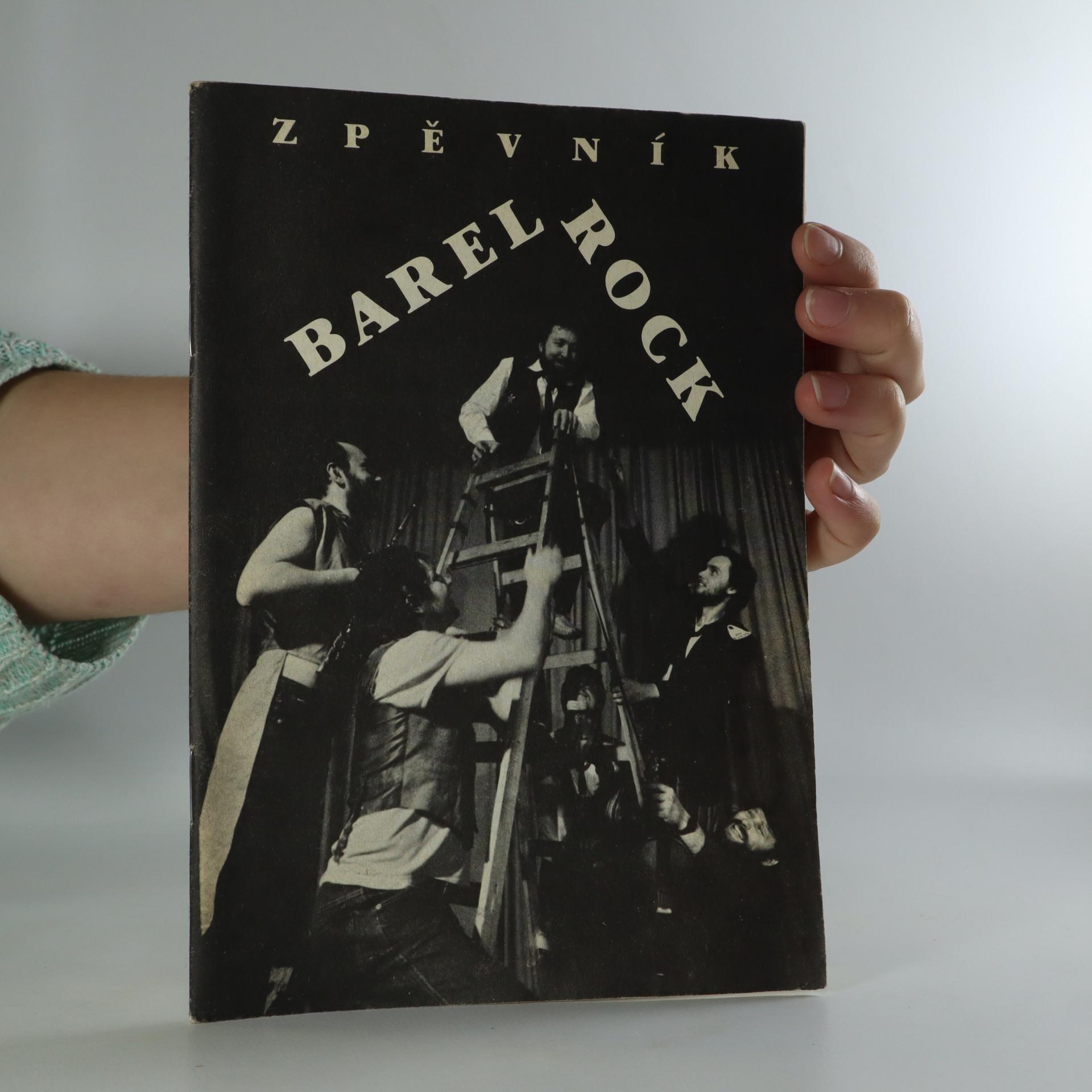 antikvární kniha Zpěvník Barel Rock, neuveden