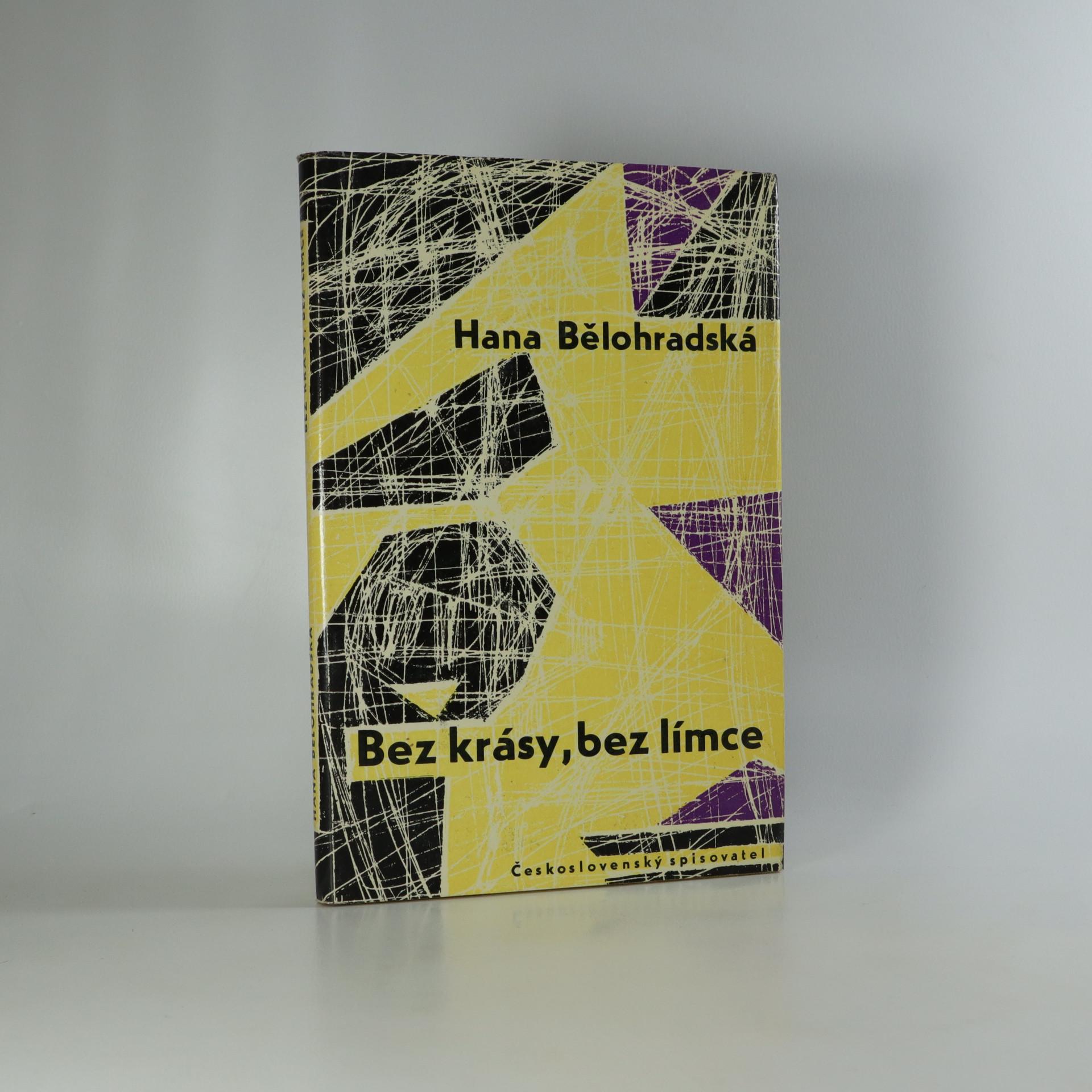 antikvární kniha Bez krásy, bez límce, 1962