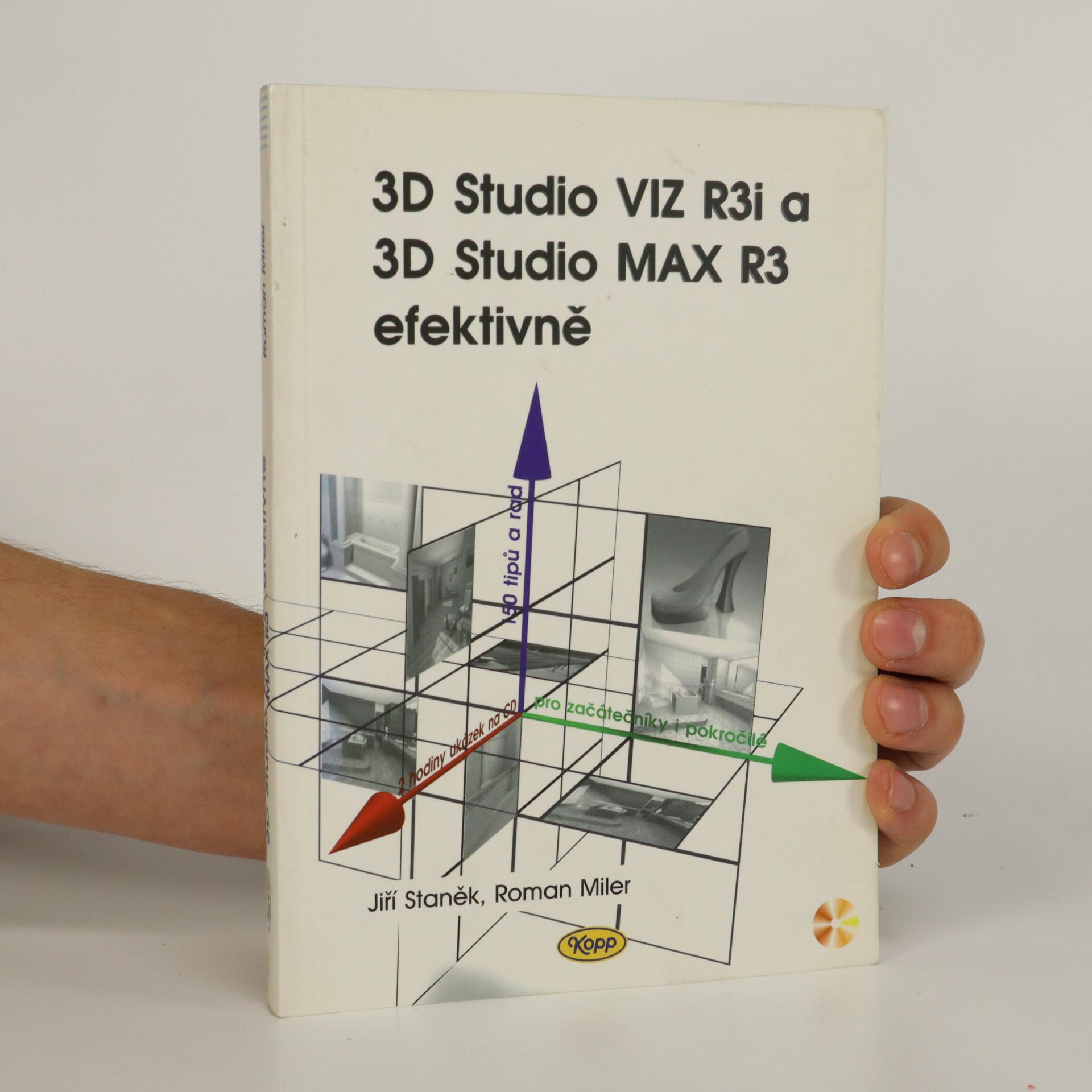 antikvární kniha 3D Studio VIZ R3i a 3D Studio MAX R3 efektivně, 2000