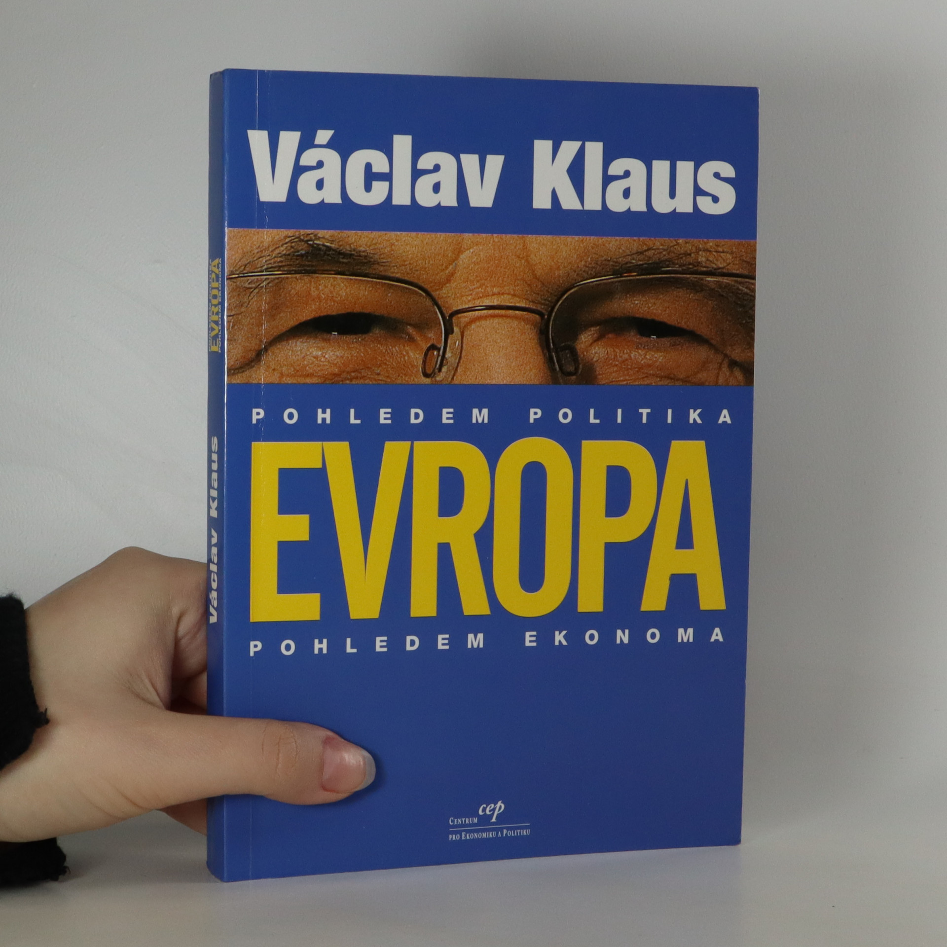 antikvární kniha Evropa pohledem politika. Pohledem ekonoma, 2001