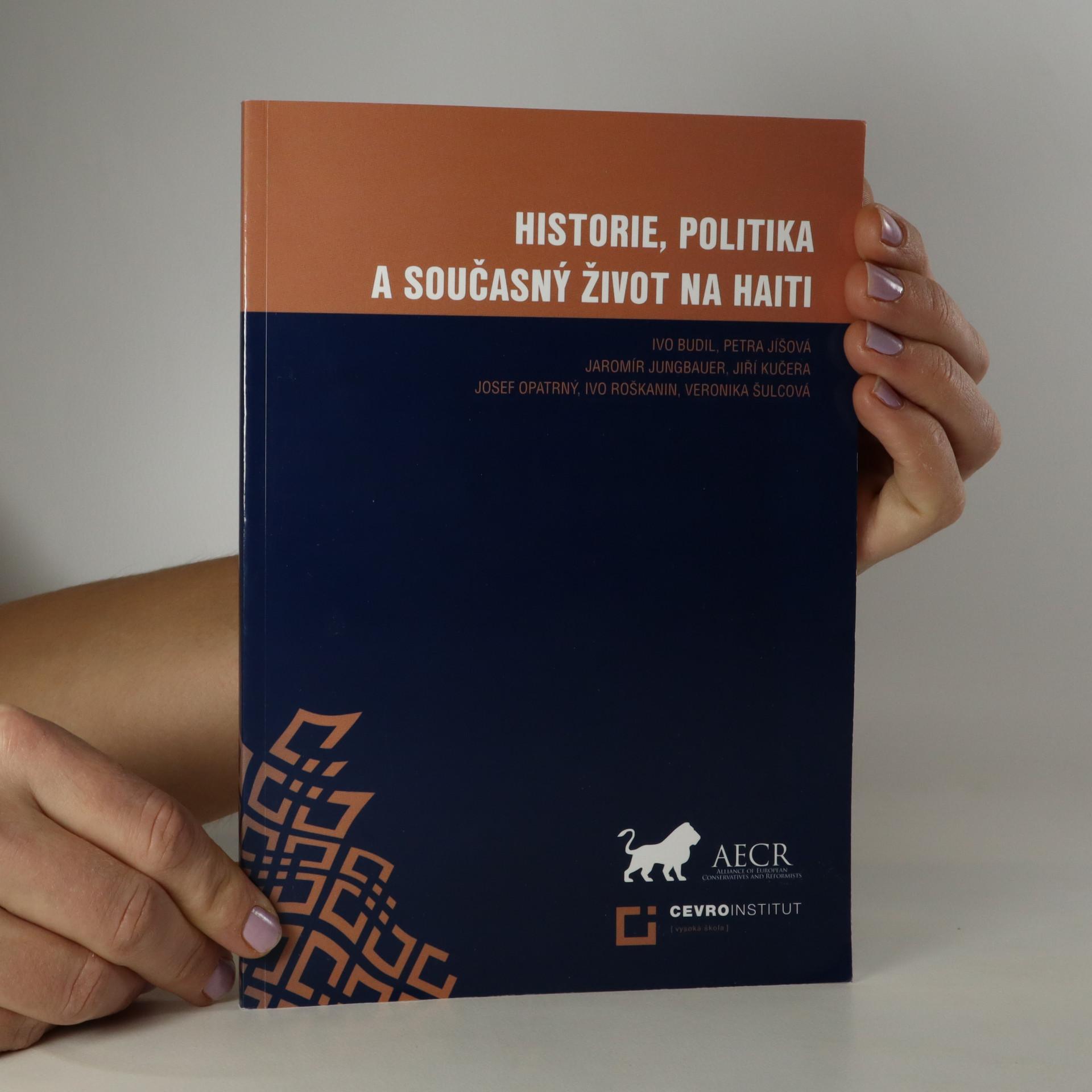 antikvární kniha Historie, politika a současný život na Haiti, 2012