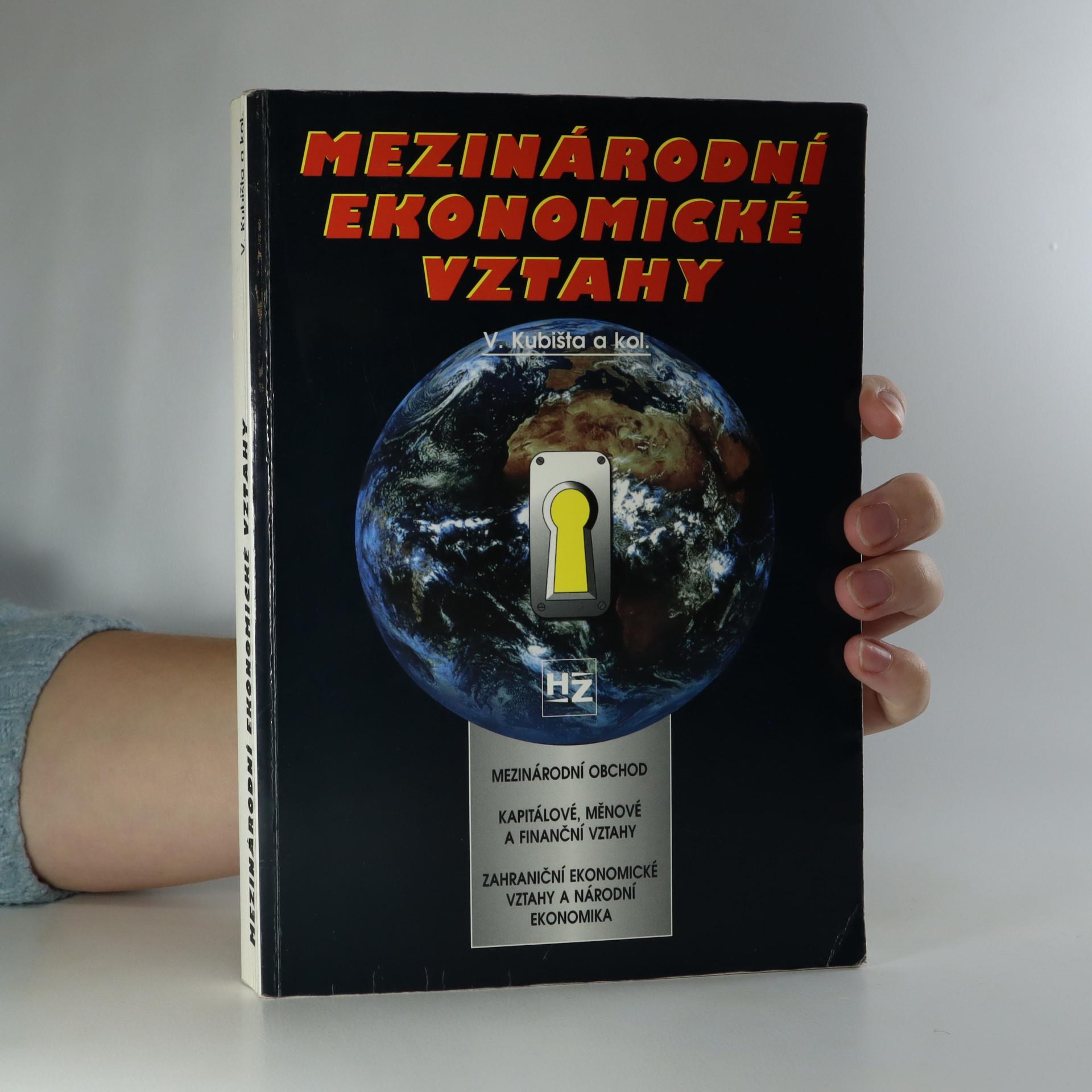 antikvární kniha Mezinárodní ekonomické vztahy, 1999