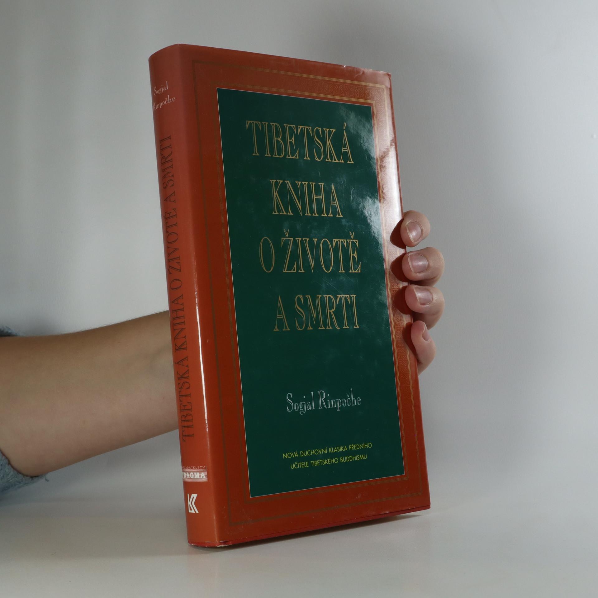 antikvární kniha Tibetská kniha o životě a smrti, 1996