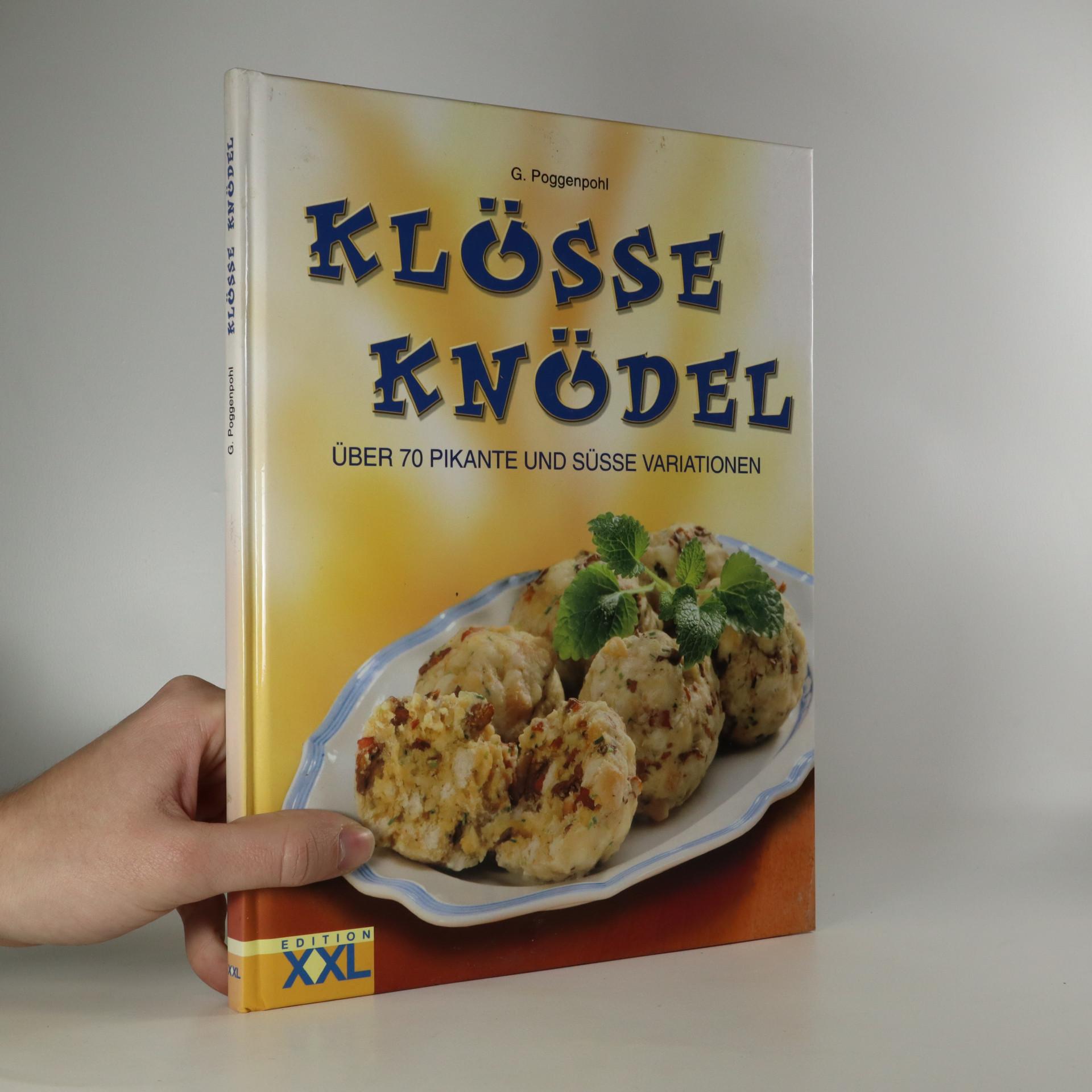 antikvární kniha Klösse Knödel, 2004
