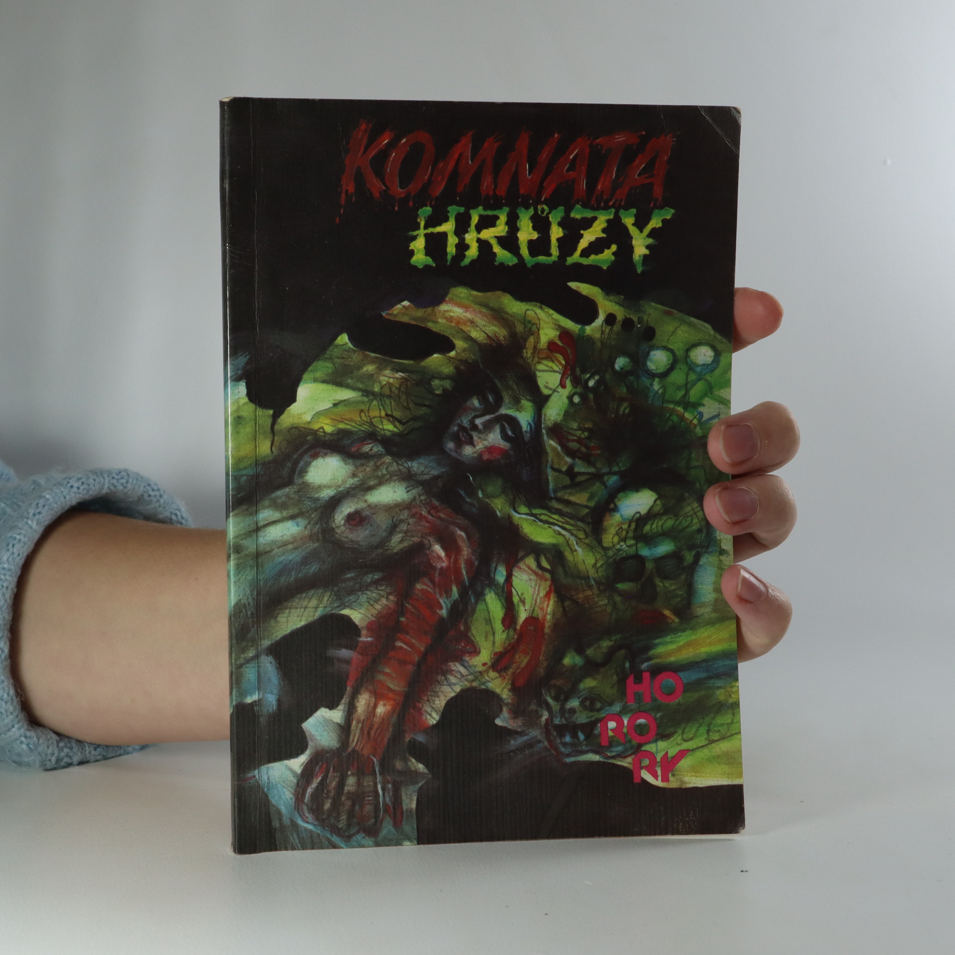 antikvární kniha Komnata hrůzy, 1991