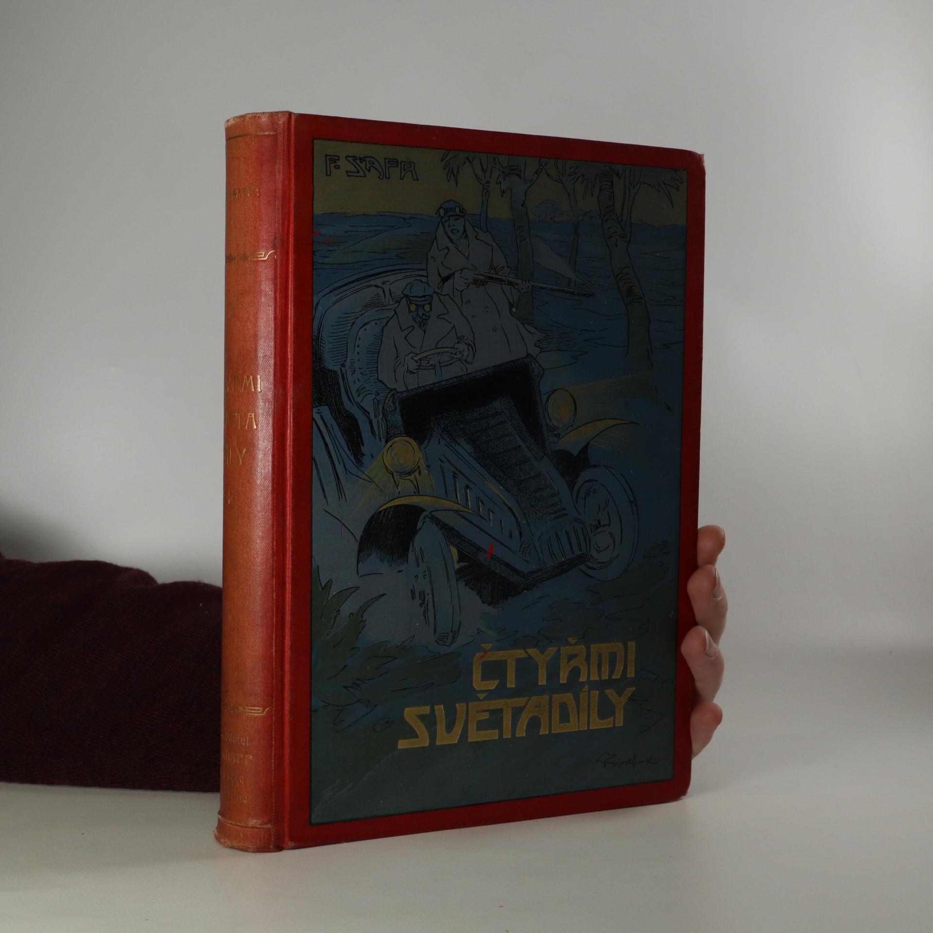 antikvární kniha Čtyřmi světa díly, neuveden
