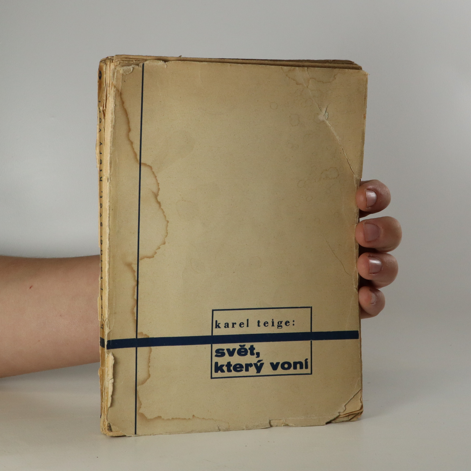 antikvární kniha O humoru, clownech a dadaistech. Svět, který voní (2. část dvojdílného cyklu), 1930