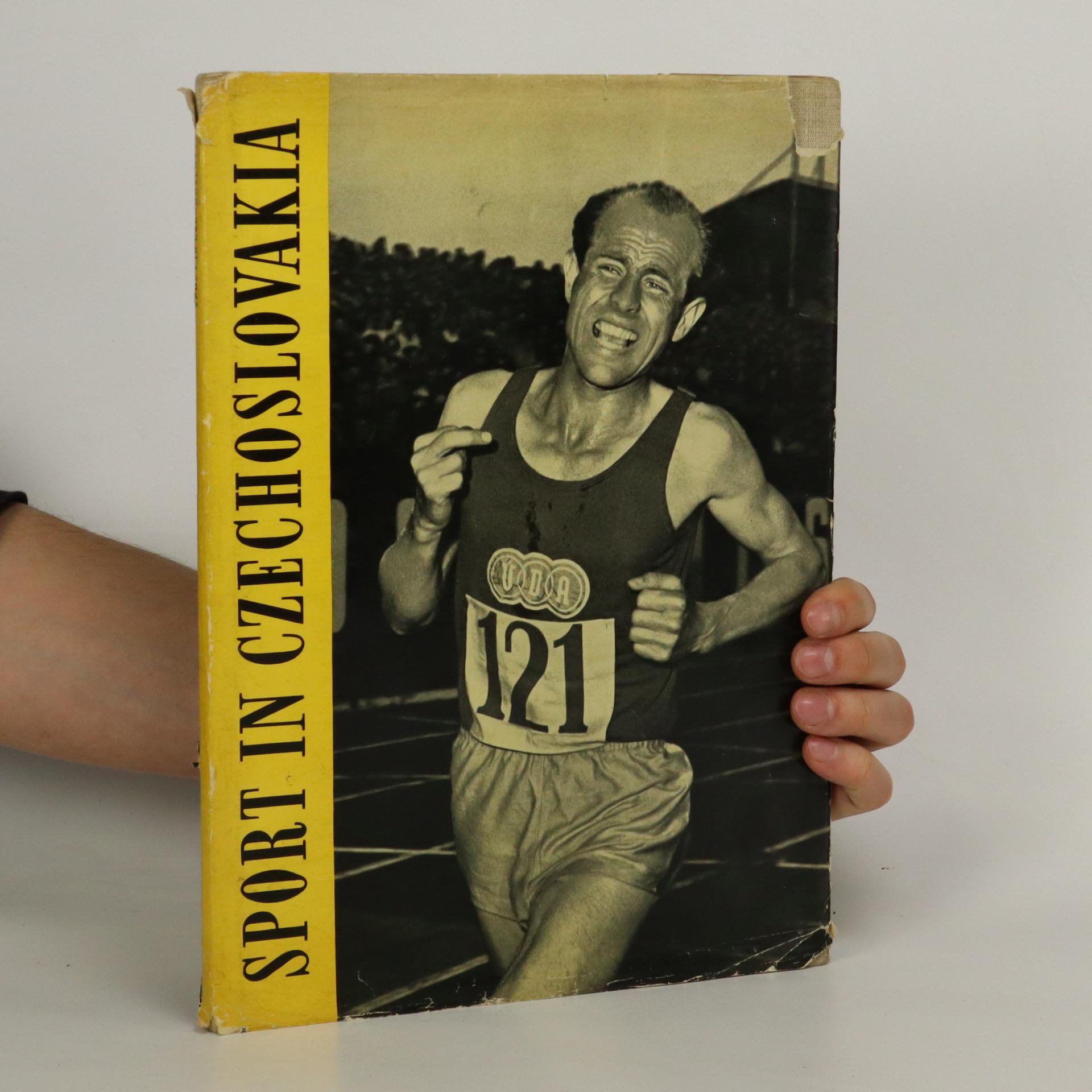 antikvární kniha Sport in Czechoslovakia, 1956