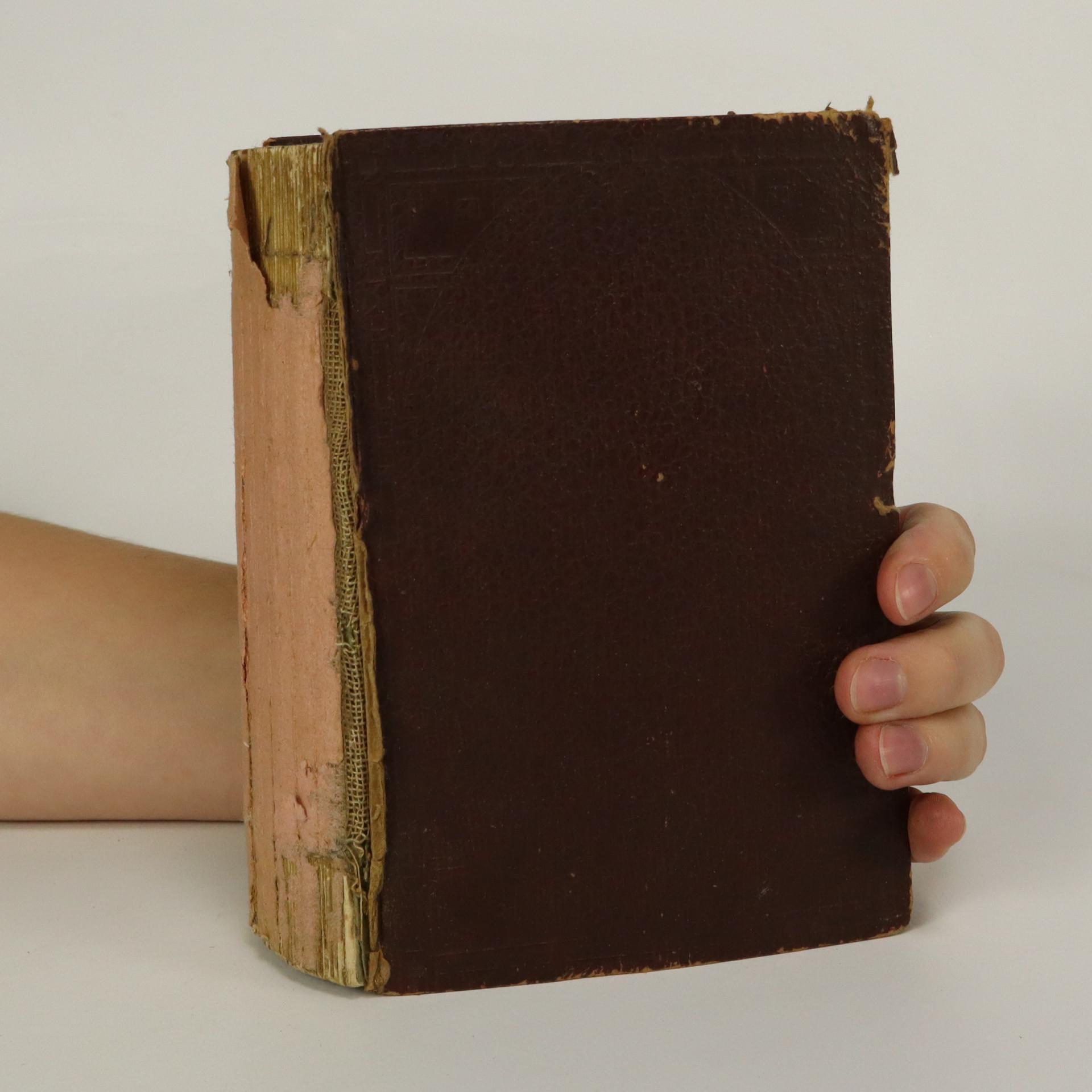 antikvární kniha Po půlnoci. 4 díly v jednom svazku (je lehounce cítit zatuchlinou), 1901